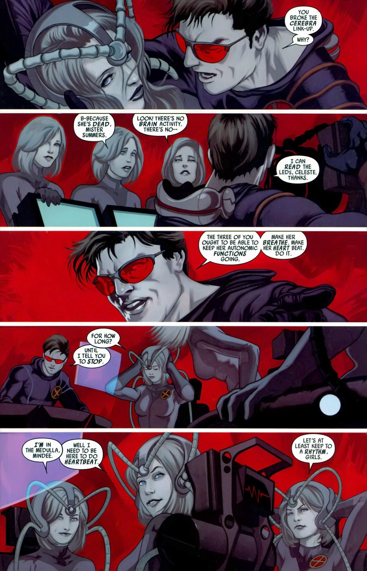 Read online Secret Invasion: X-Men comic -  Issue #3 - 4