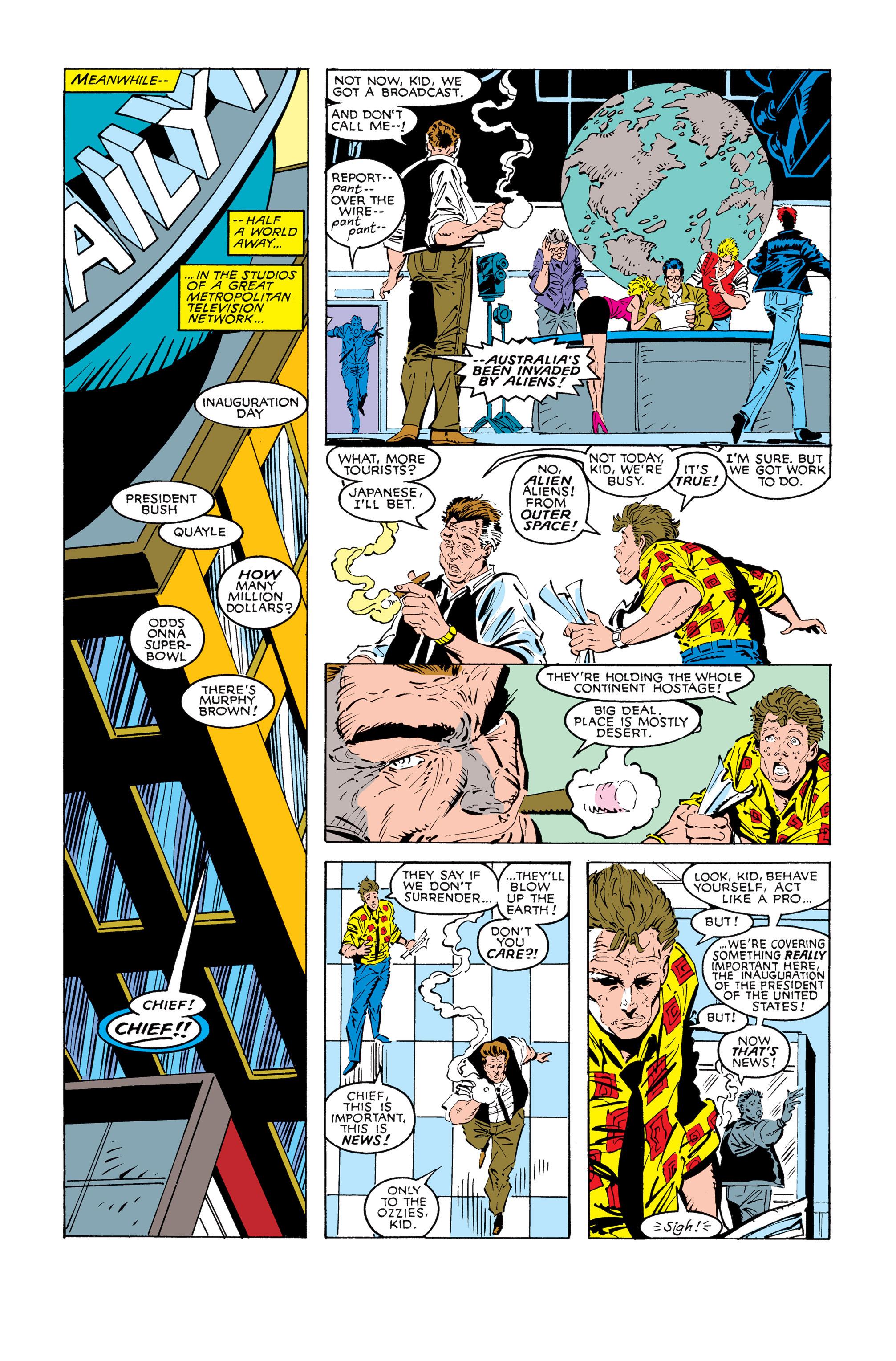 Read online Uncanny X-Men (1963) comic -  Issue #245 - 18