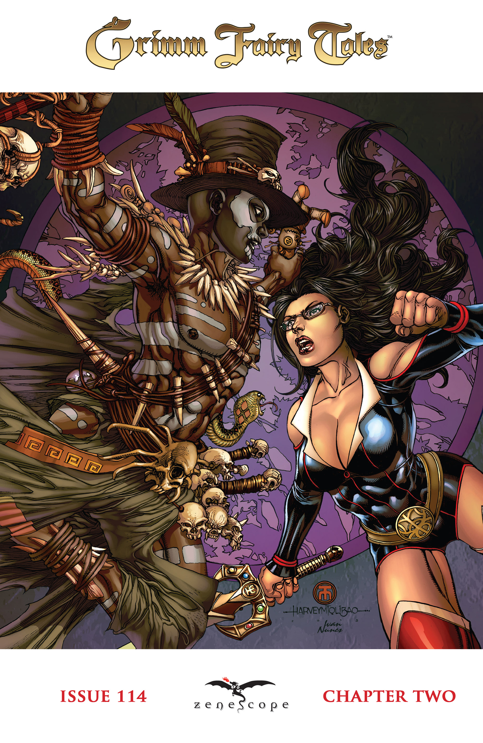 Read online Grimm Fairy Tales: Arcane Acre comic -  Issue # TPB 3 - 30
