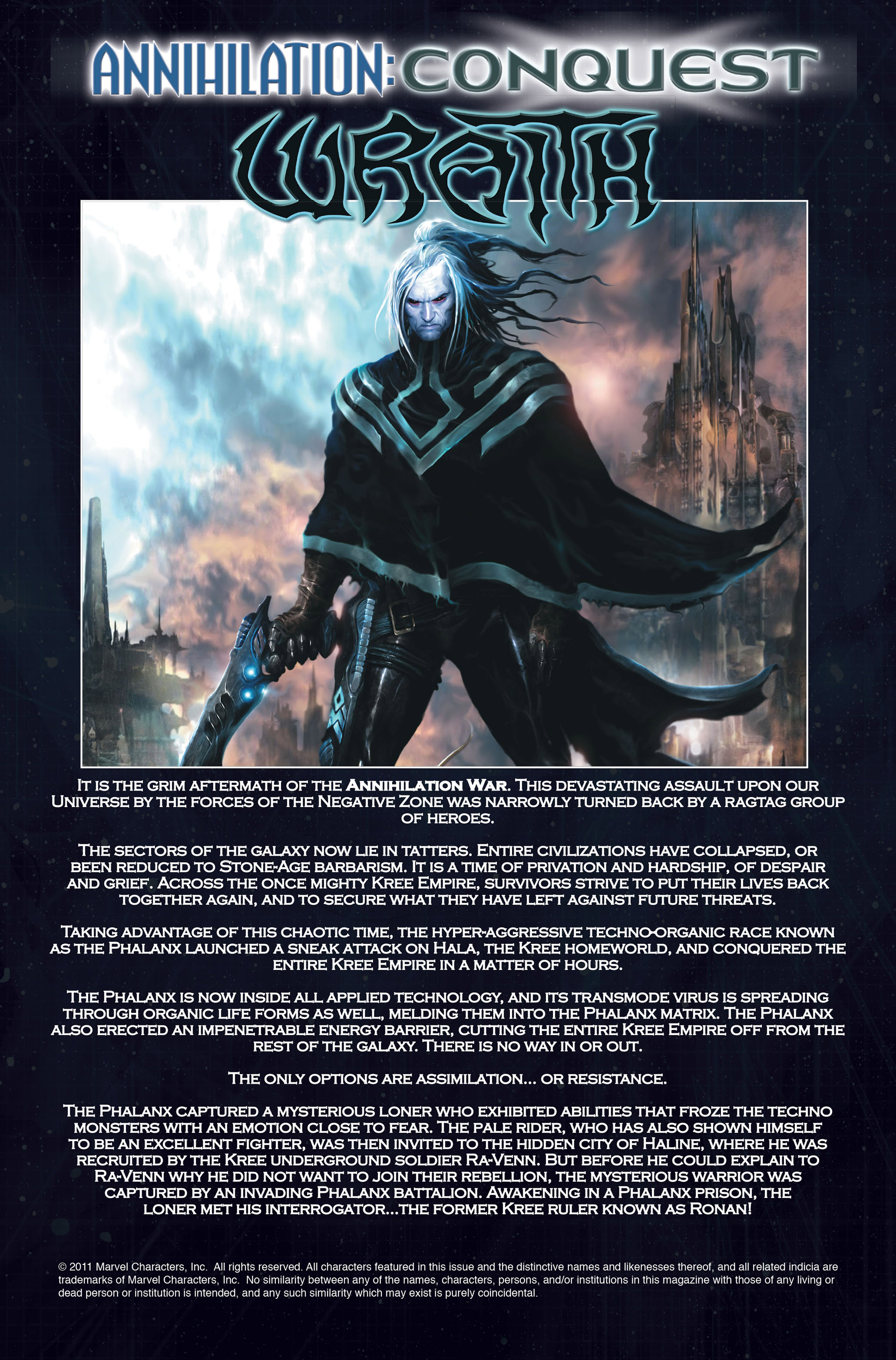 Read online Annihilation: Conquest - Wraith comic -  Issue #2 - 2