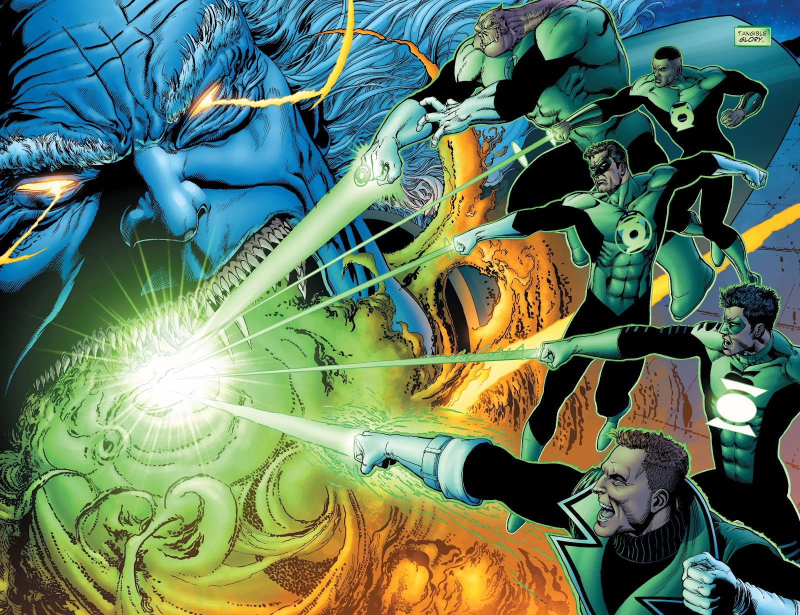 Read online Green Lantern by Geoff Johns comic -  Issue # TPB 1 (Part 2) - 41
