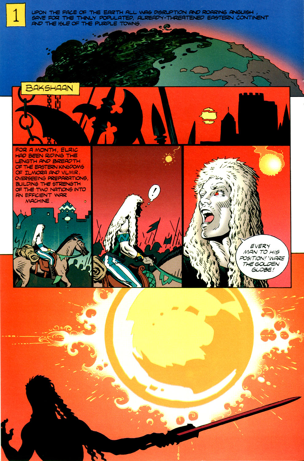 Read online Elric: Stormbringer comic -  Issue #4 - 12