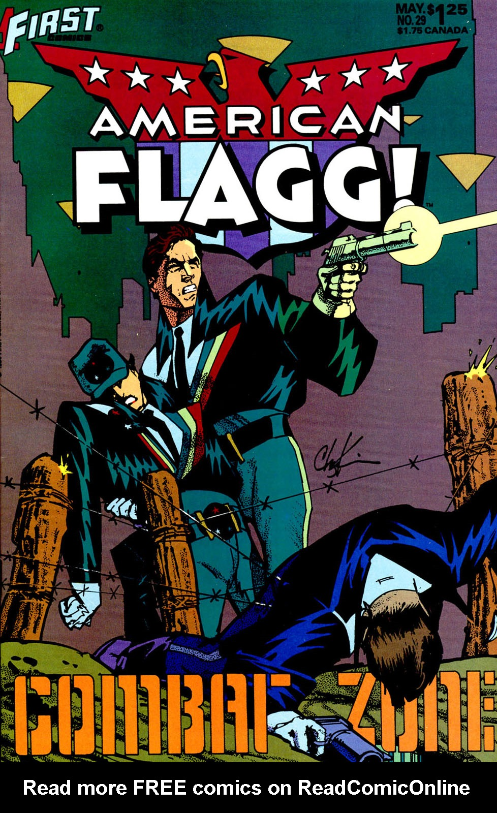 Read online American Flagg! comic -  Issue #29 - 1