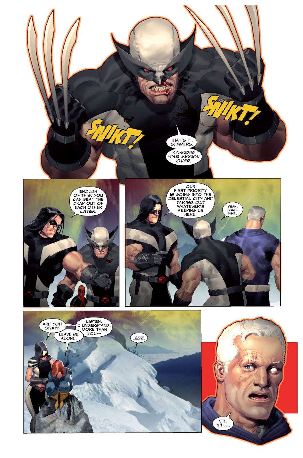 Read online X-Force/Cable: Messiah War comic -  Issue # _TPB (Part 2) - 12