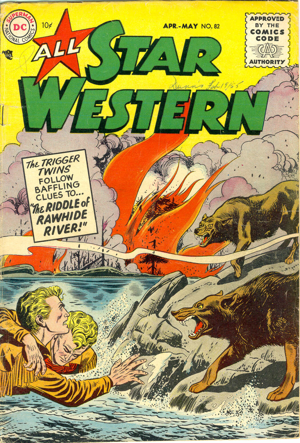 All-Star Western (1951) issue 82 - Page 1