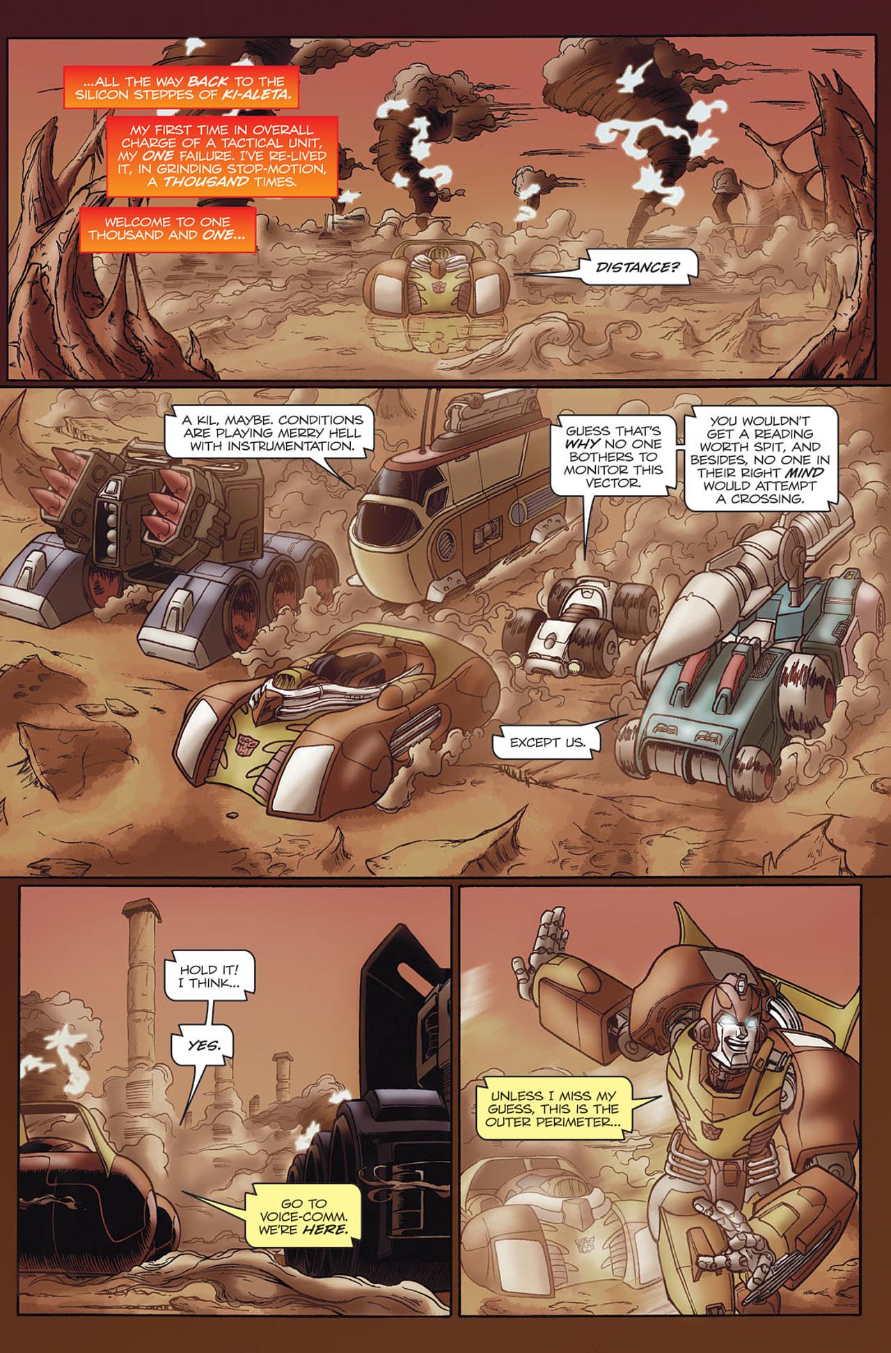 Read online Transformers Spotlight: Hot Rod comic -  Issue # Full - 6