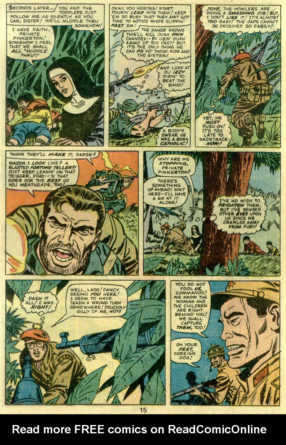 Read online Sgt. Fury comic -  Issue #125 - 17