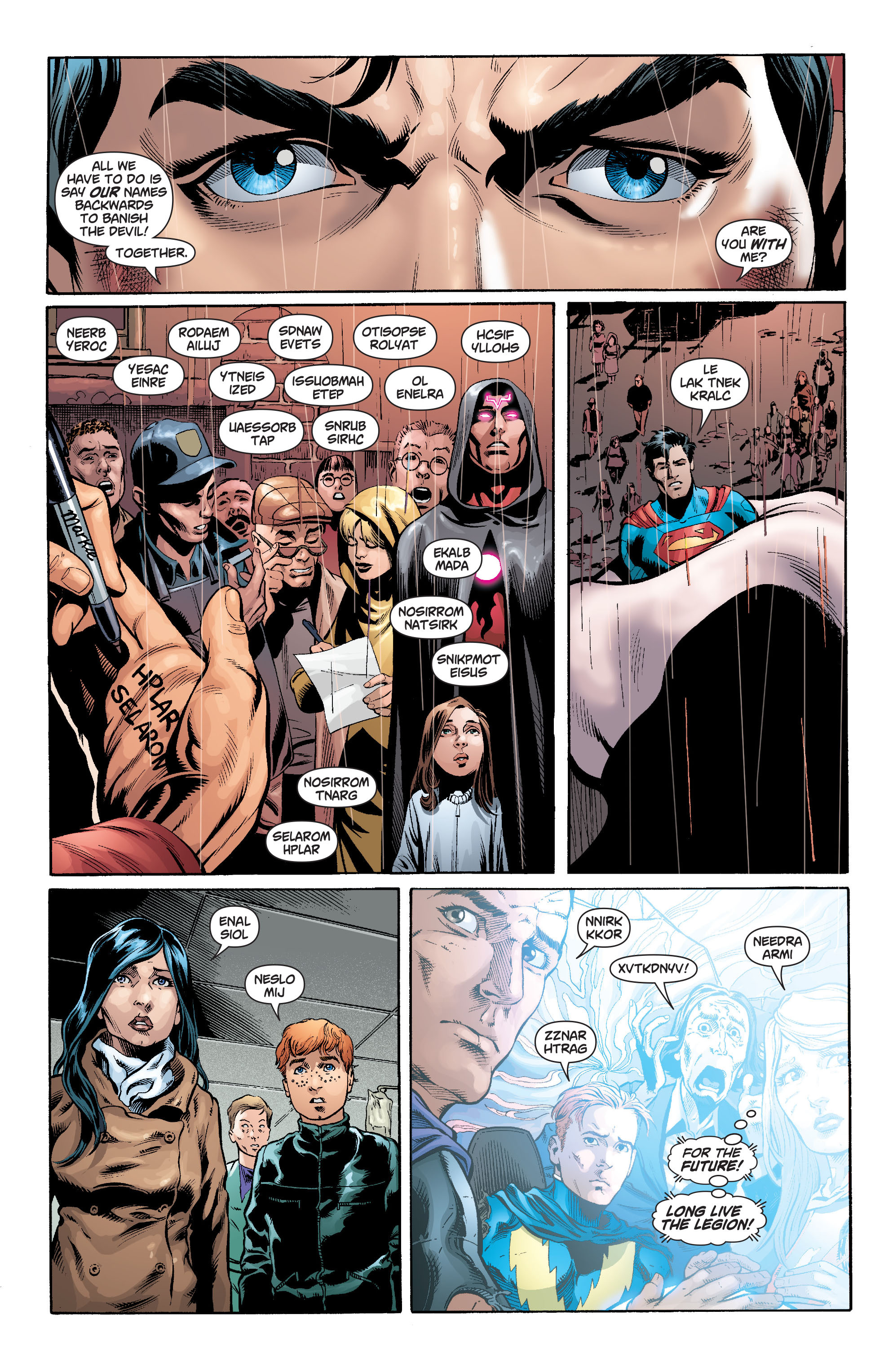 Read online Action Comics (2011) comic -  Issue #18 - 23