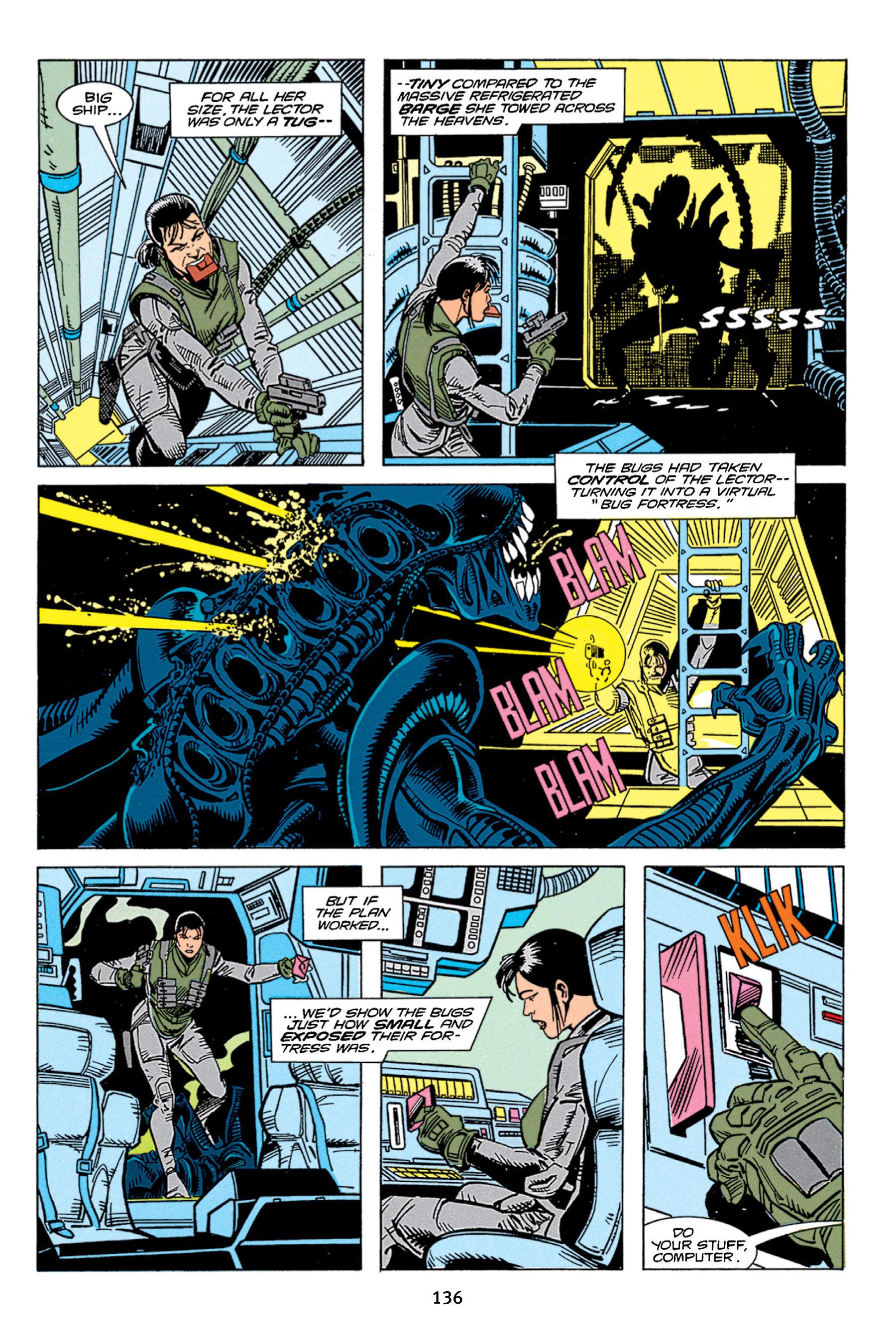 Read online Aliens vs. Predator Omnibus comic -  Issue # _TPB 1 Part 2 - 35