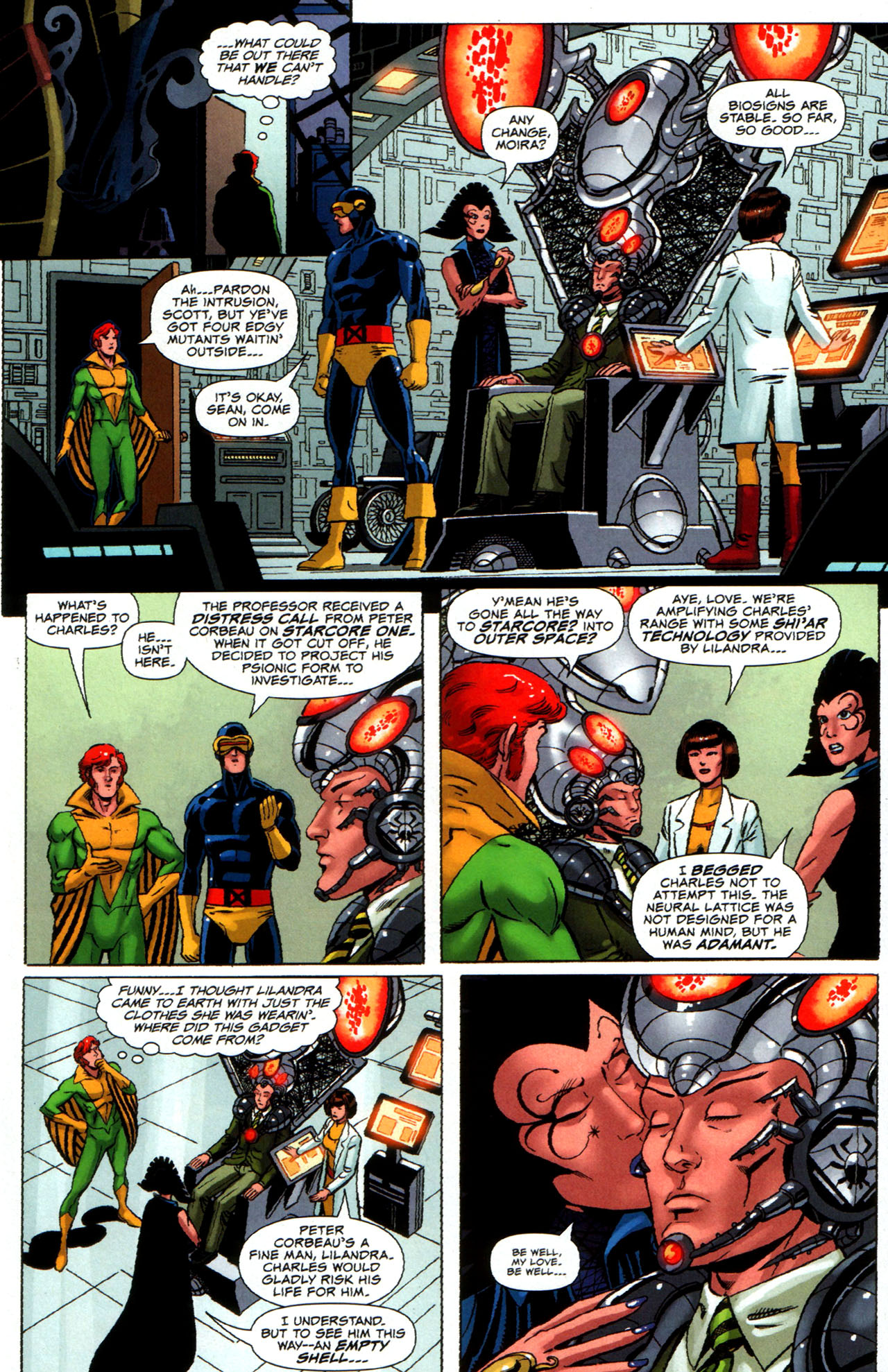Read online Uncanny X-Men: First Class comic -  Issue #5 - 7