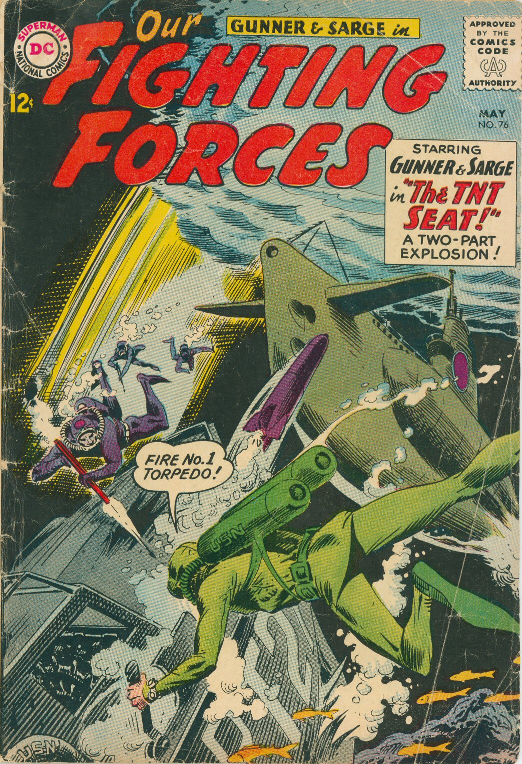 Our Fighting Forces (1954) issue 76 - Page 1