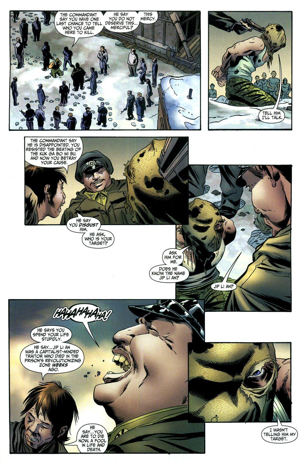 Read online Secret Six (2006) comic -  Issue #1 - 8