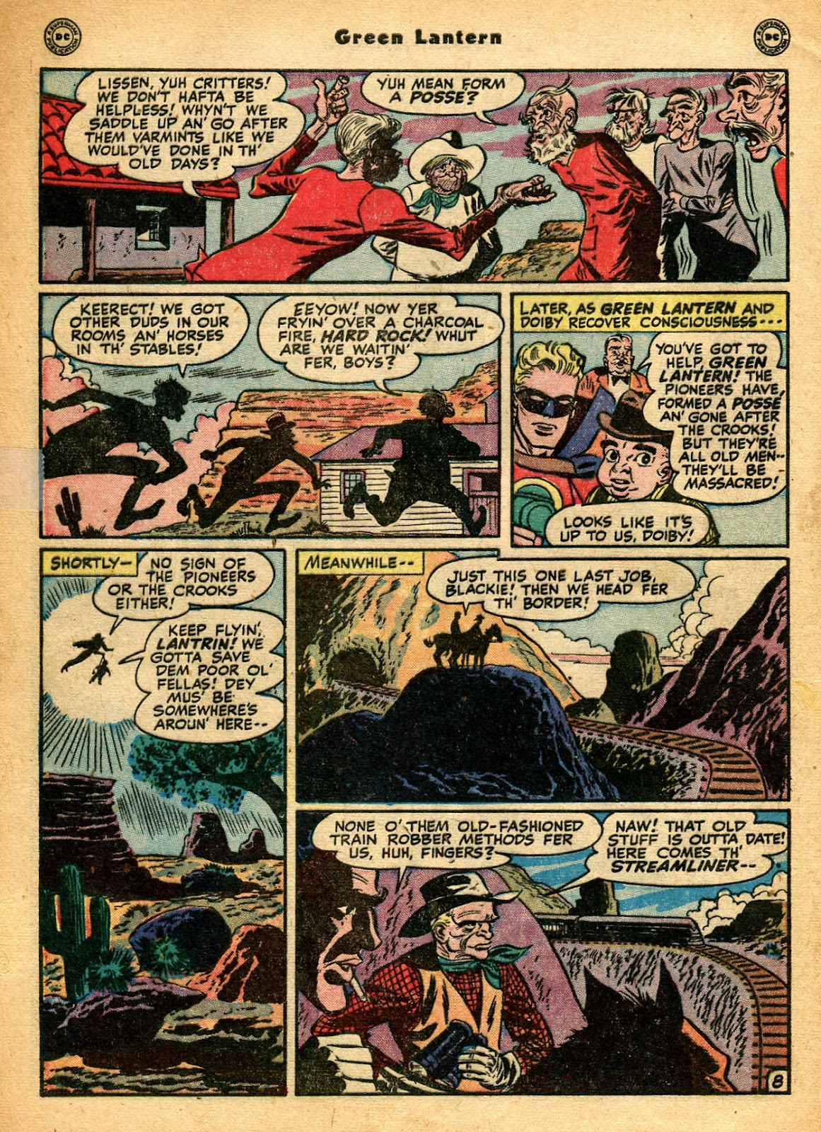 Green Lantern (1941) Issue #33 #33 - English 11