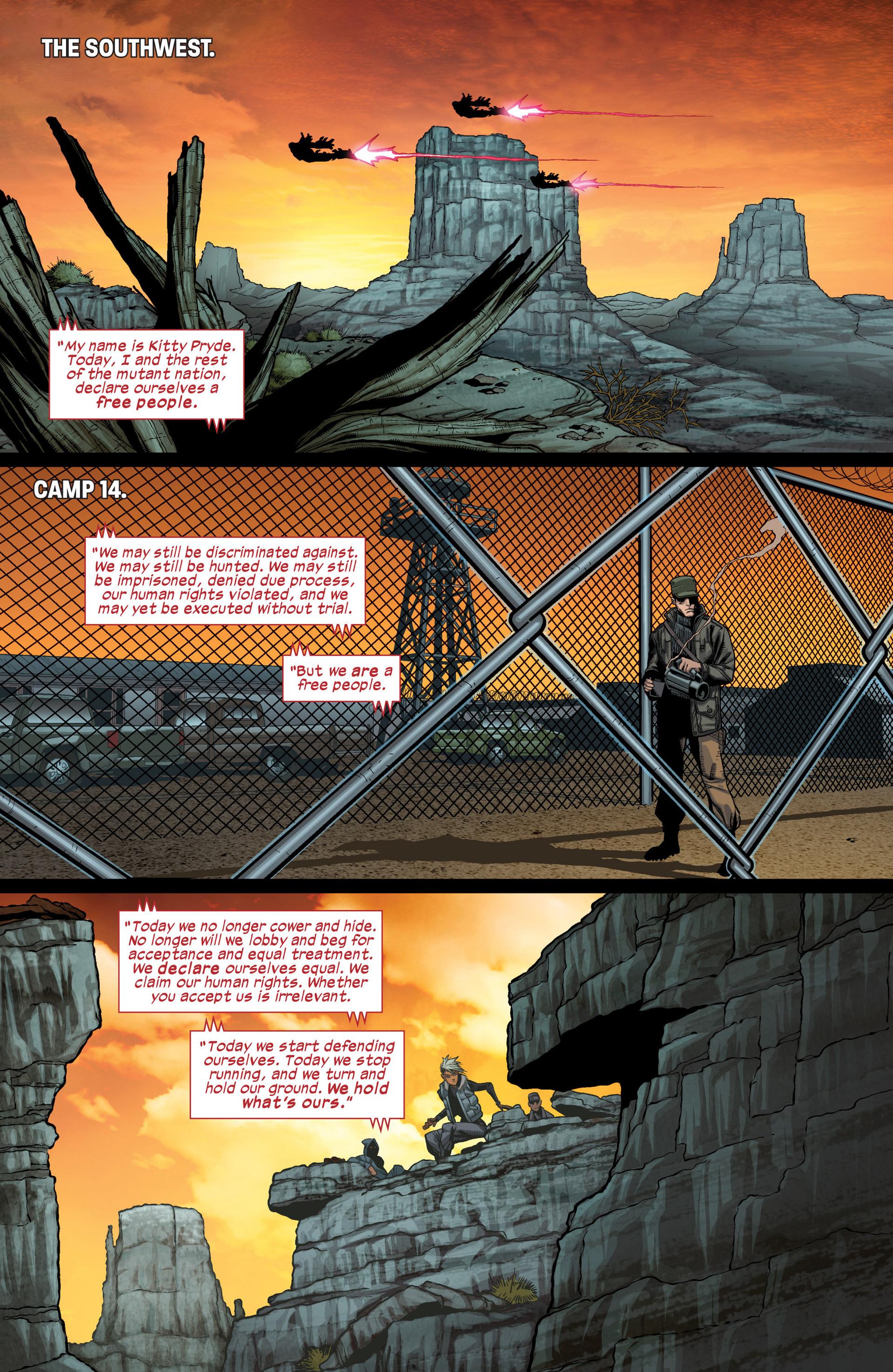 Read online Ultimate Comics X-Men comic -  Issue #17 - 4