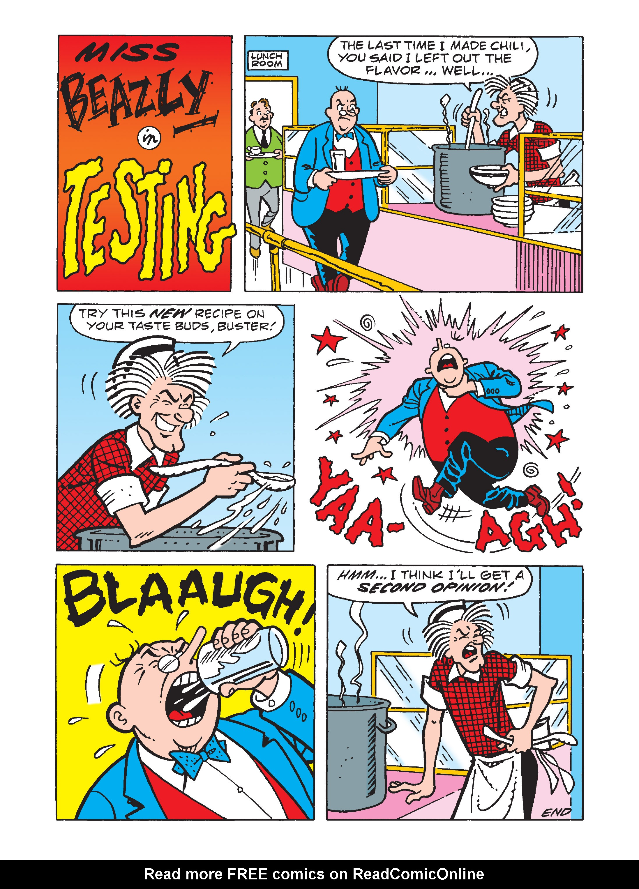 Read online Archie 1000 Page Comics Bonanza comic -  Issue #1 (Part 1) - 134