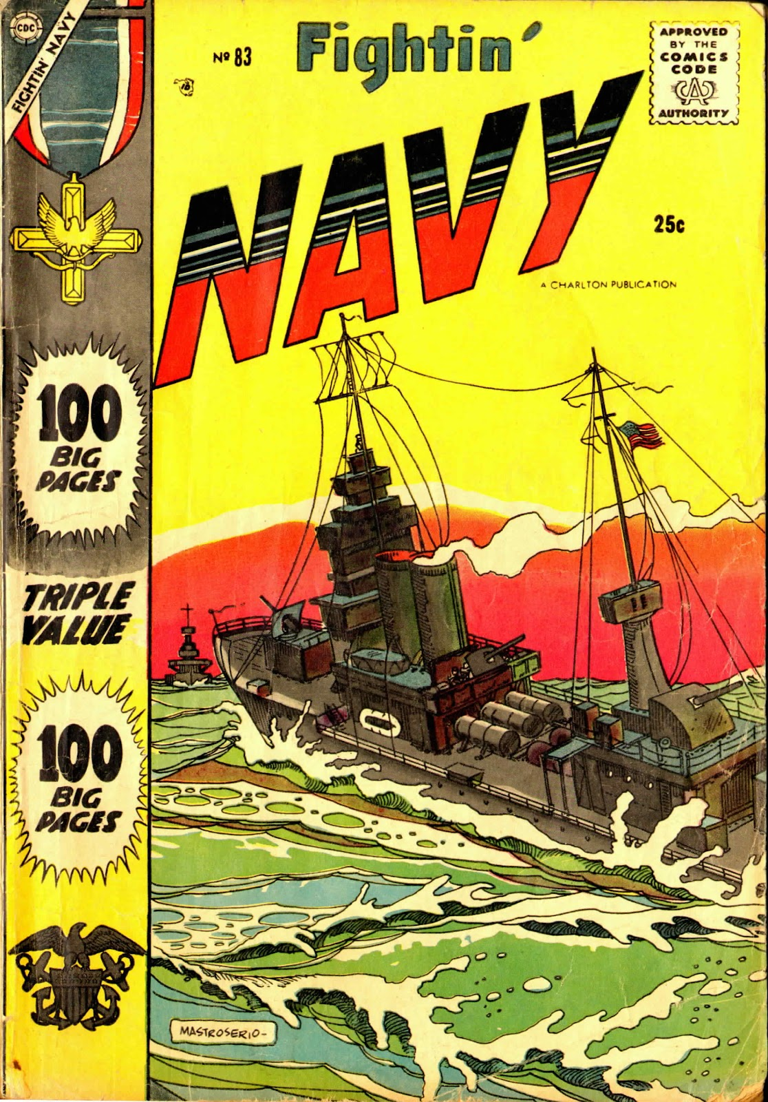 Read online Fightin' Navy comic -  Issue #83 - 1