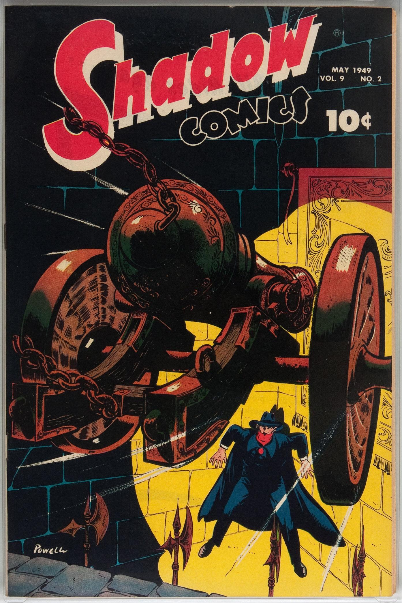 Read online Shadow Comics comic -  Issue #98 - 1
