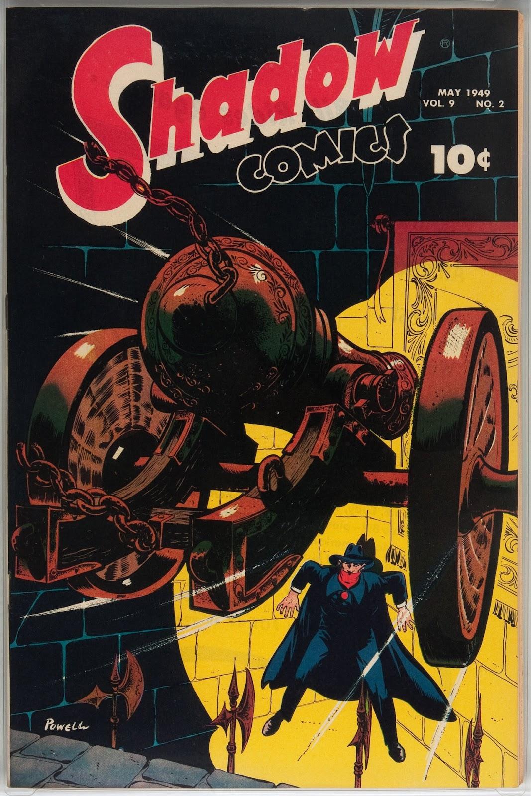 Shadow Comics 98 Page 1
