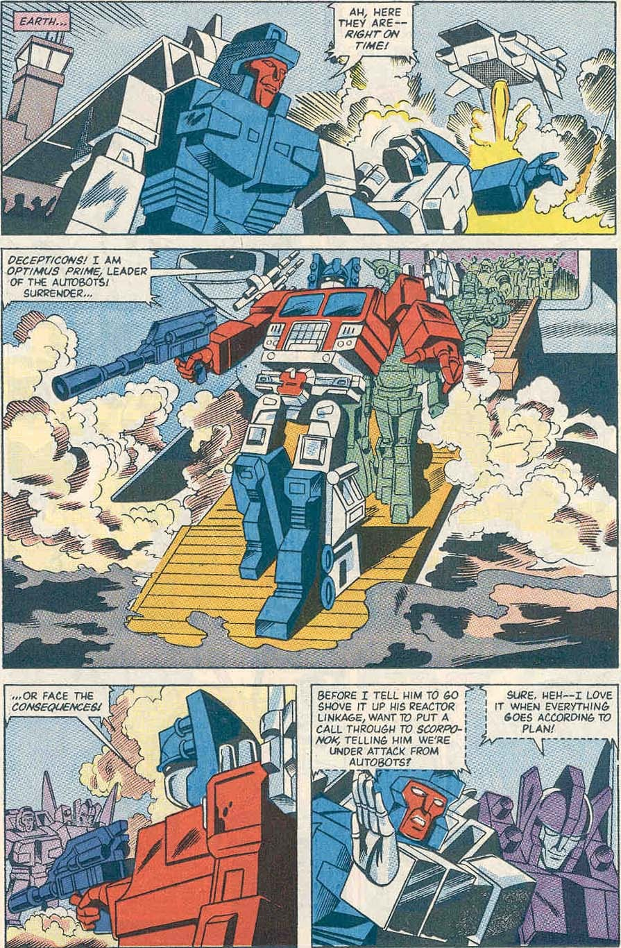 The Transformers (UK) 242 Page 2