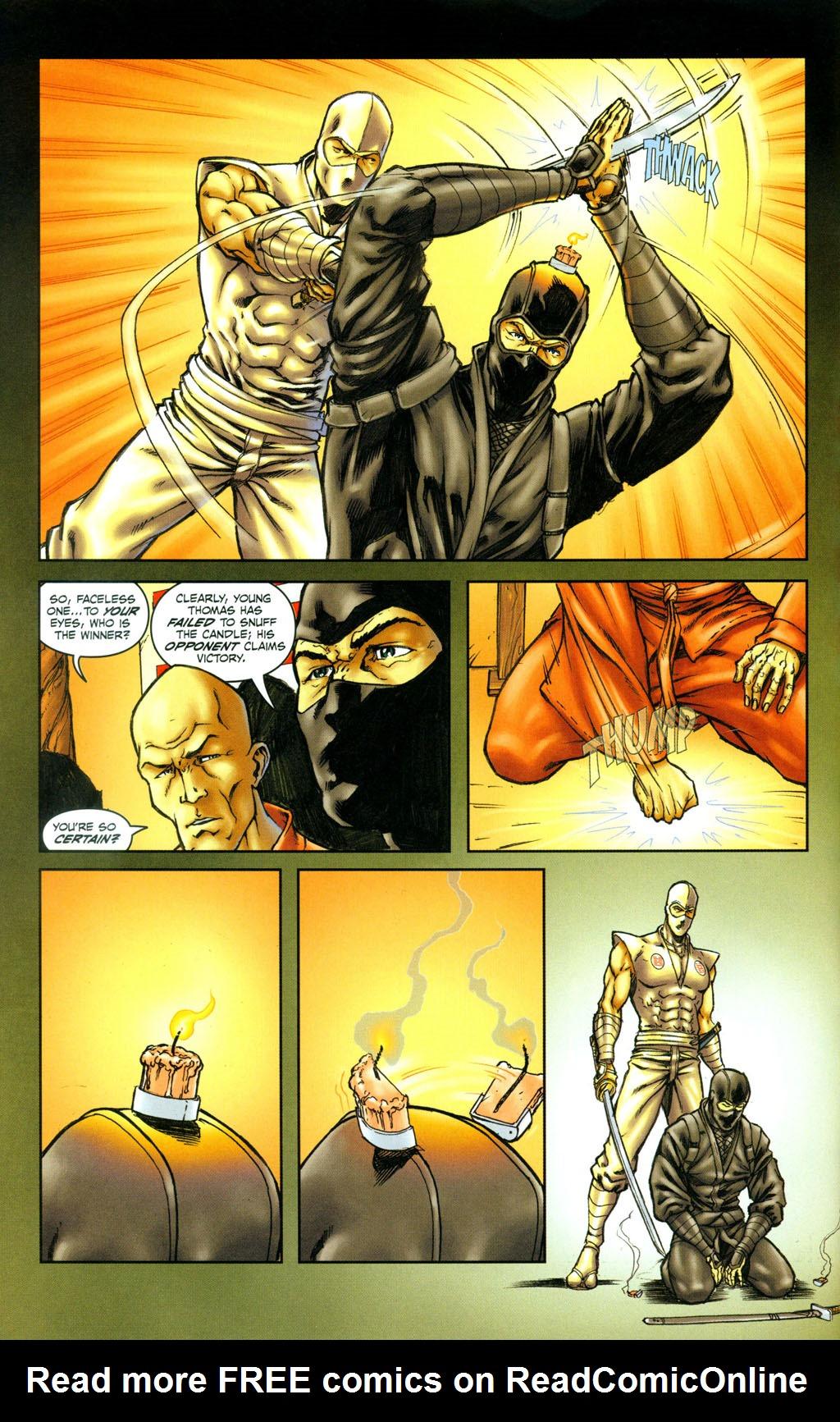 Read online Snake Eyes: Declassified comic -  Issue #4 - 4