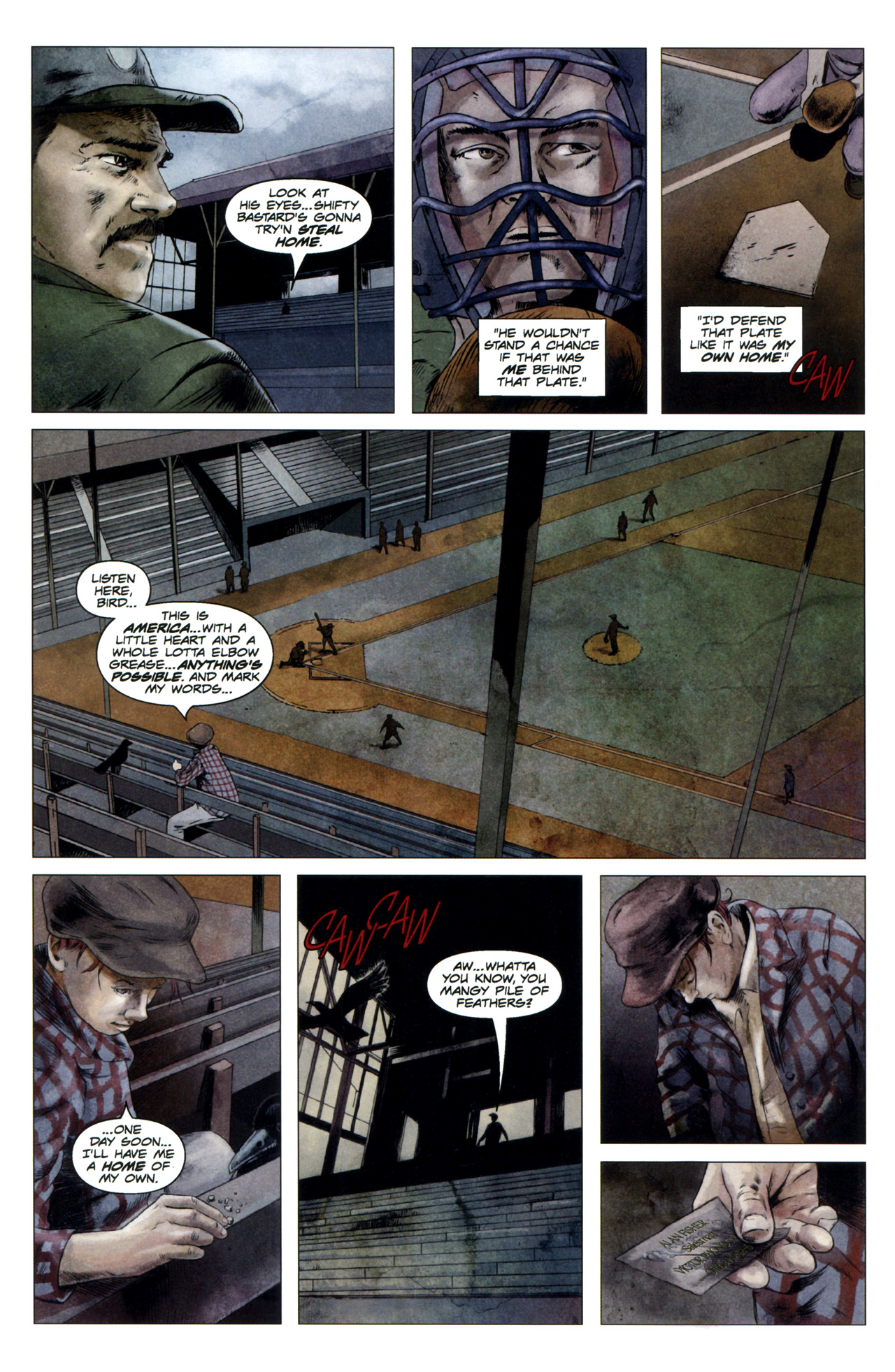 Read online Severed comic -  Issue #4 - 3