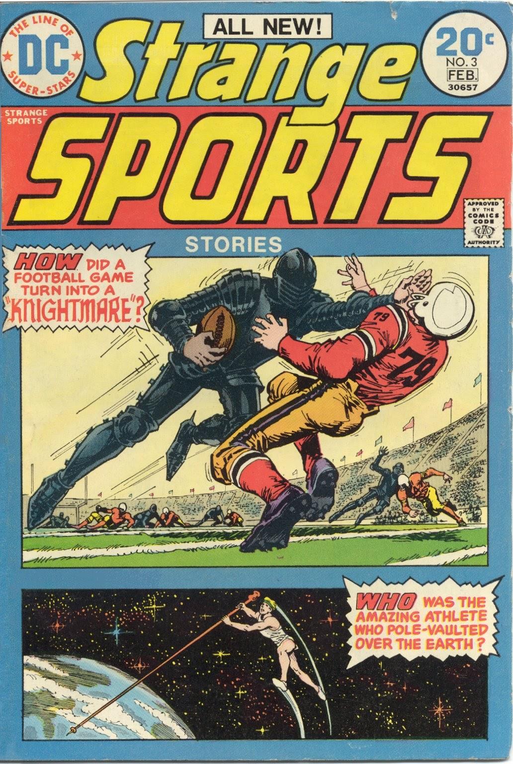 Read online Strange Sports Stories (1973) comic -  Issue #3 - 1