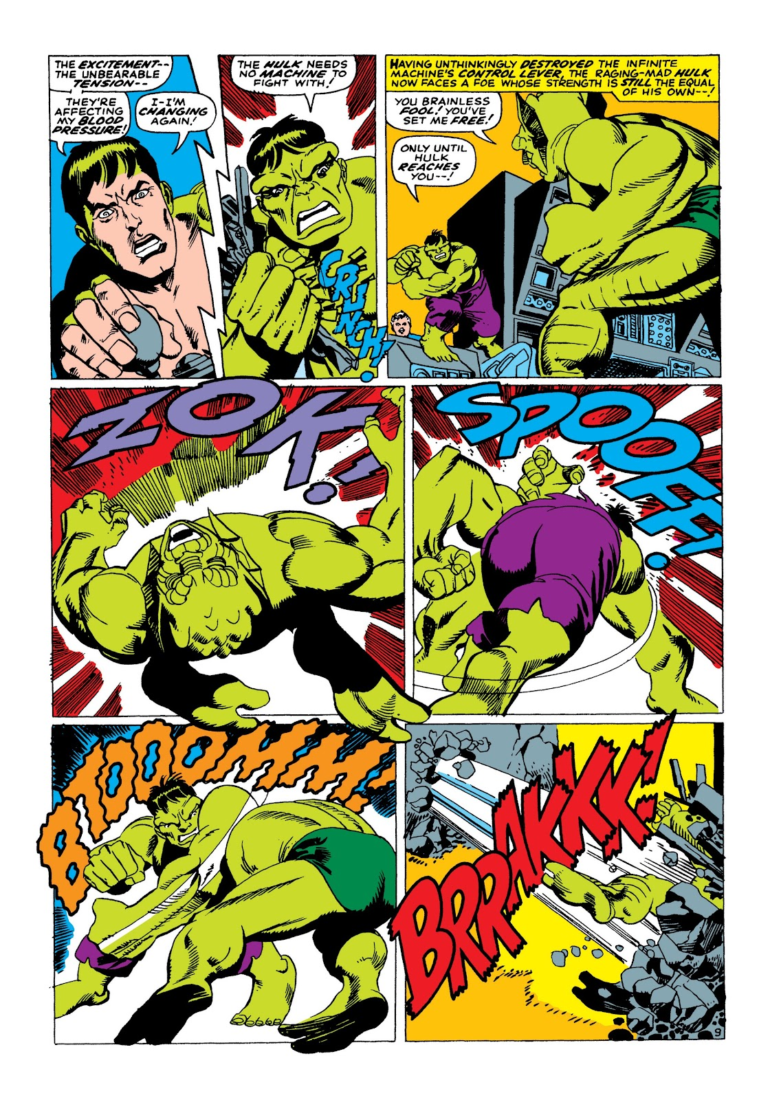 Read online Marvel Masterworks: The Incredible Hulk comic -  Issue # TPB 3 (Part 2) - 37