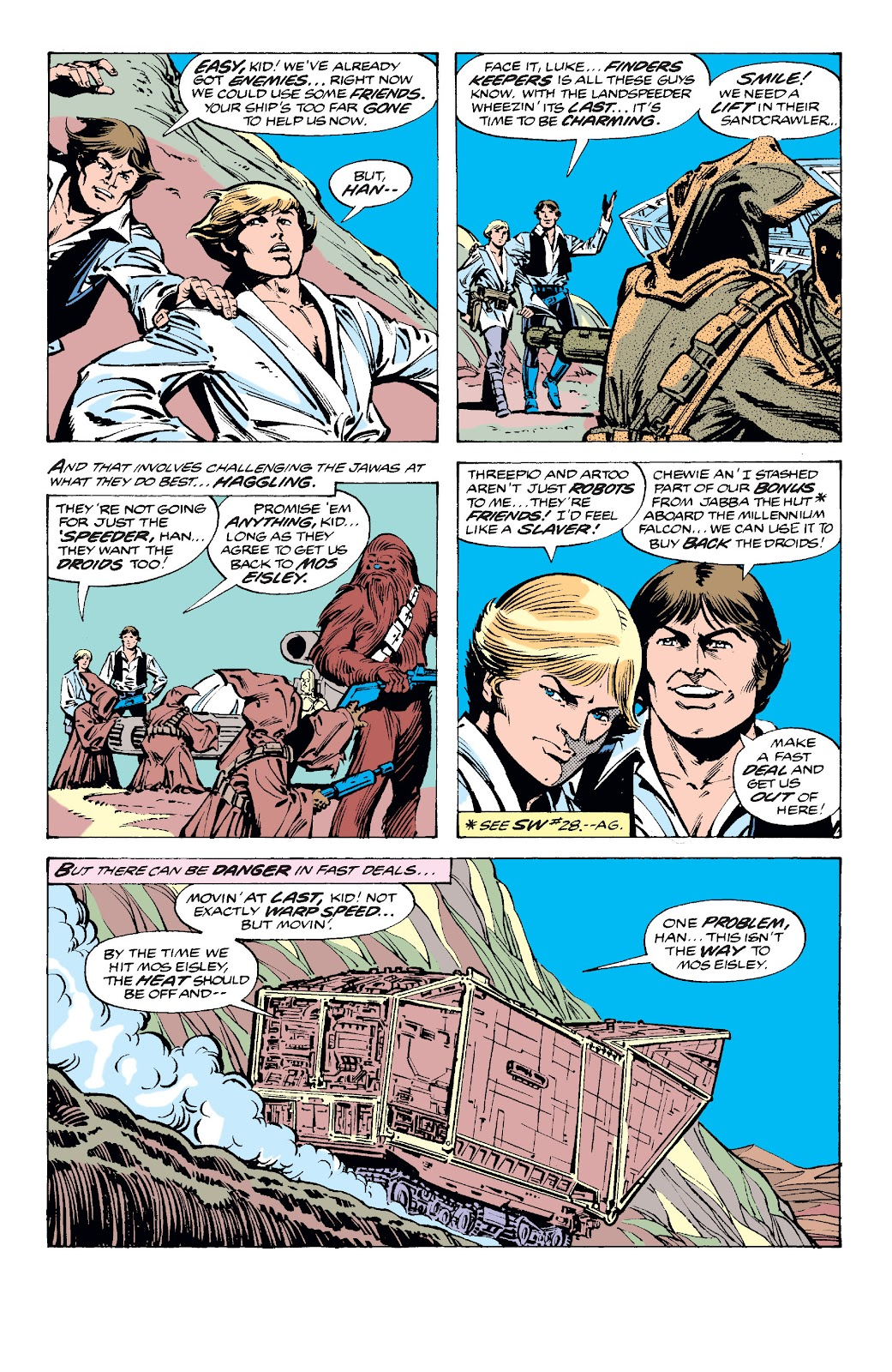 Read online Star Wars Legends: The Original Marvel Years - Epic Collection comic -  Issue # TPB 2 (Part 2) - 54
