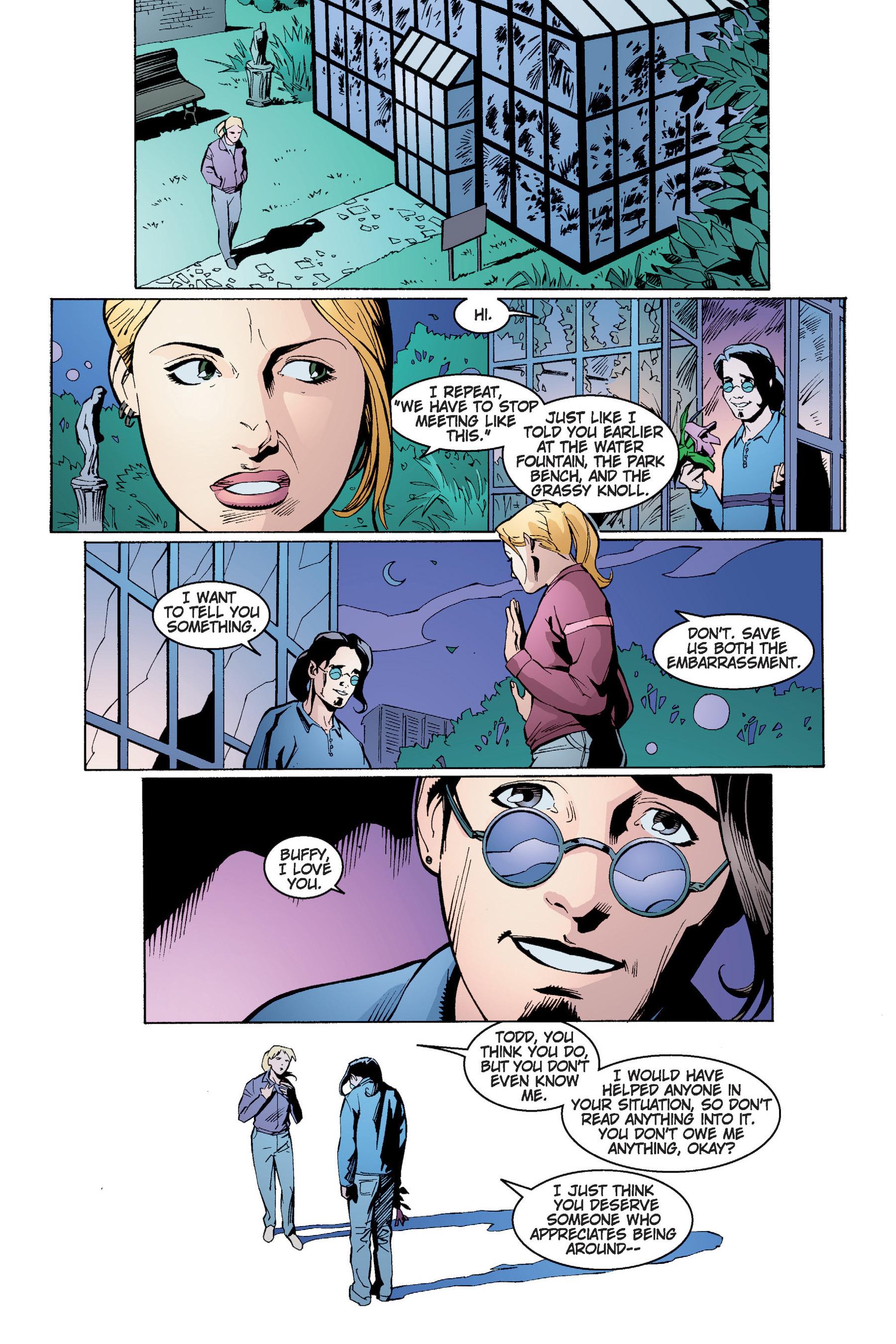 Read online Buffy the Vampire Slayer: Omnibus comic -  Issue # TPB 4 - 115