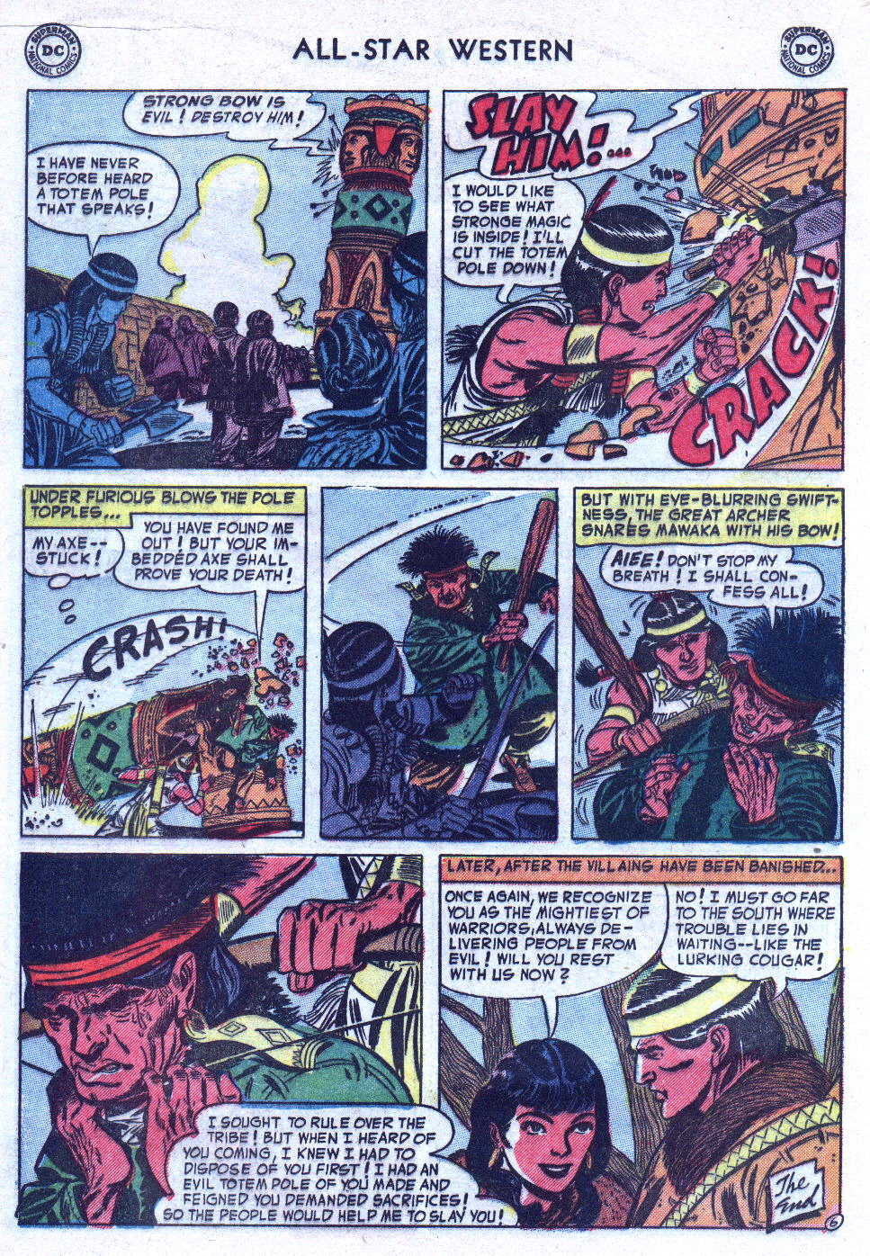Read online All-Star Western (1951) comic -  Issue #76 - 16