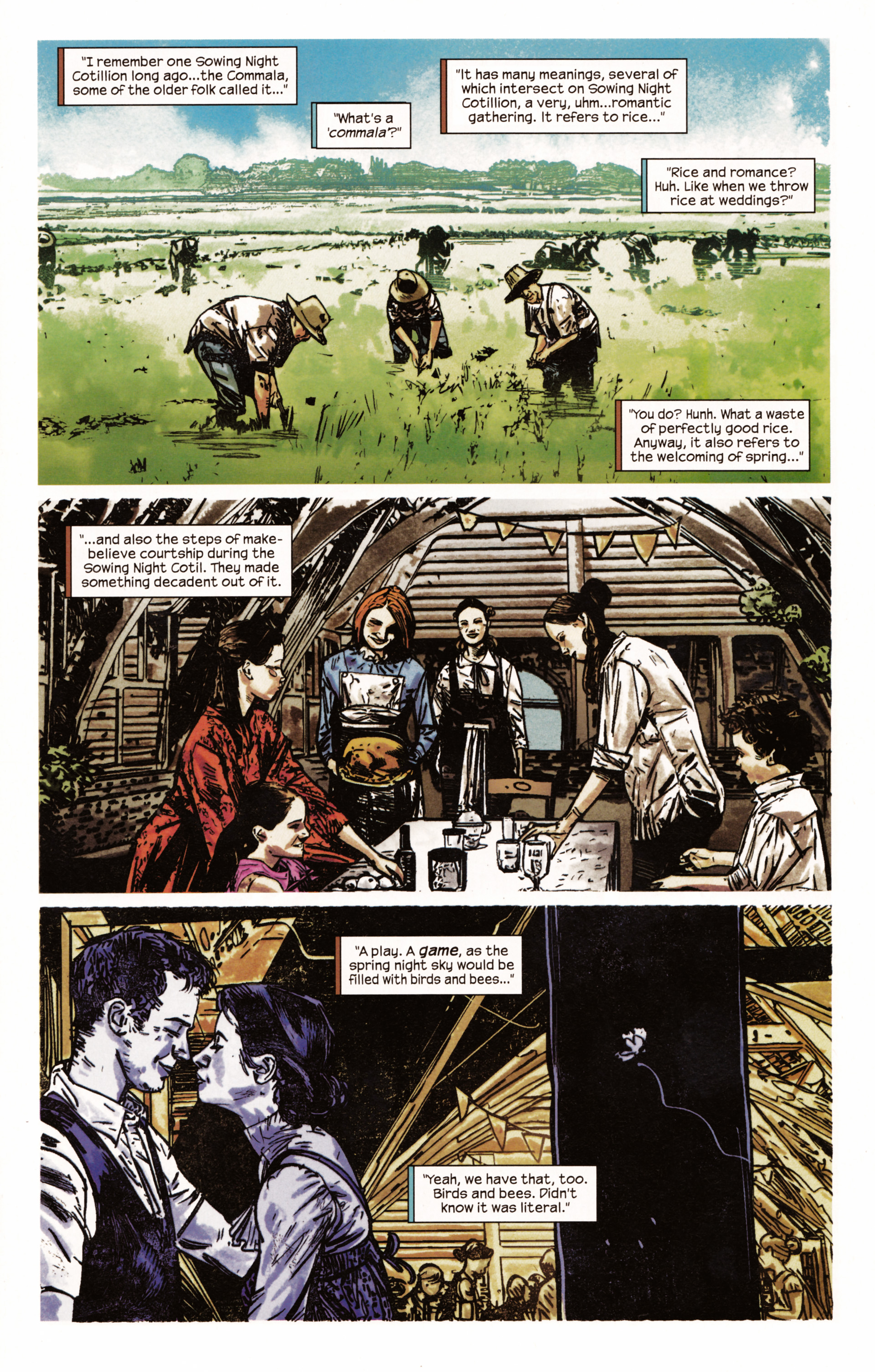 Read online Dark Tower: The Gunslinger - The Man in Black comic -  Issue #2 - 14