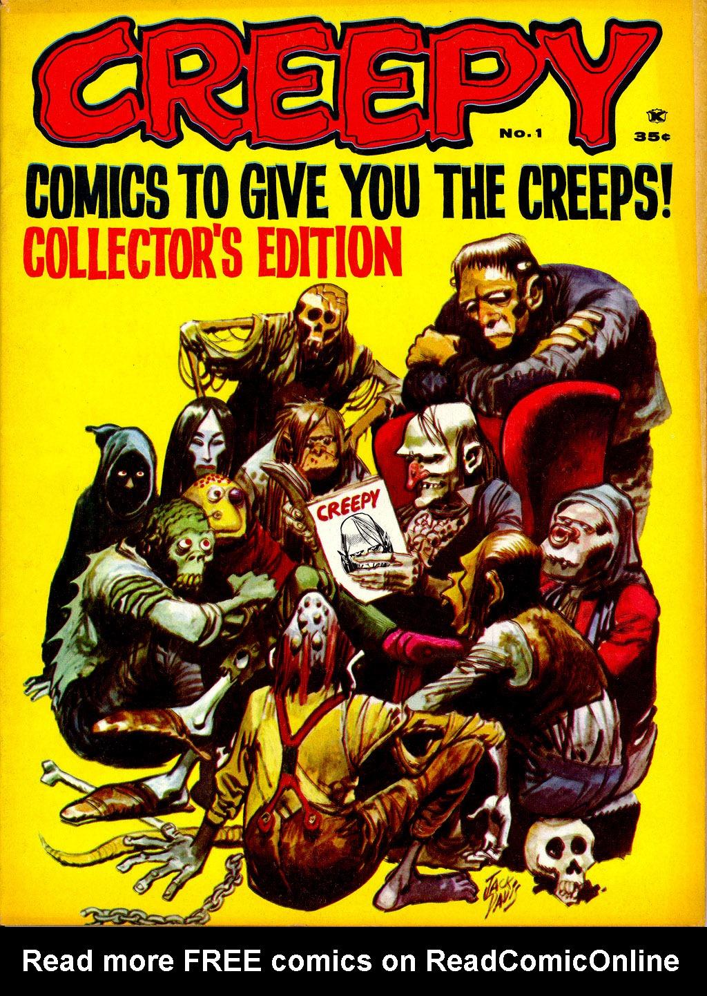 Creepy (1964) 1 Page 1
