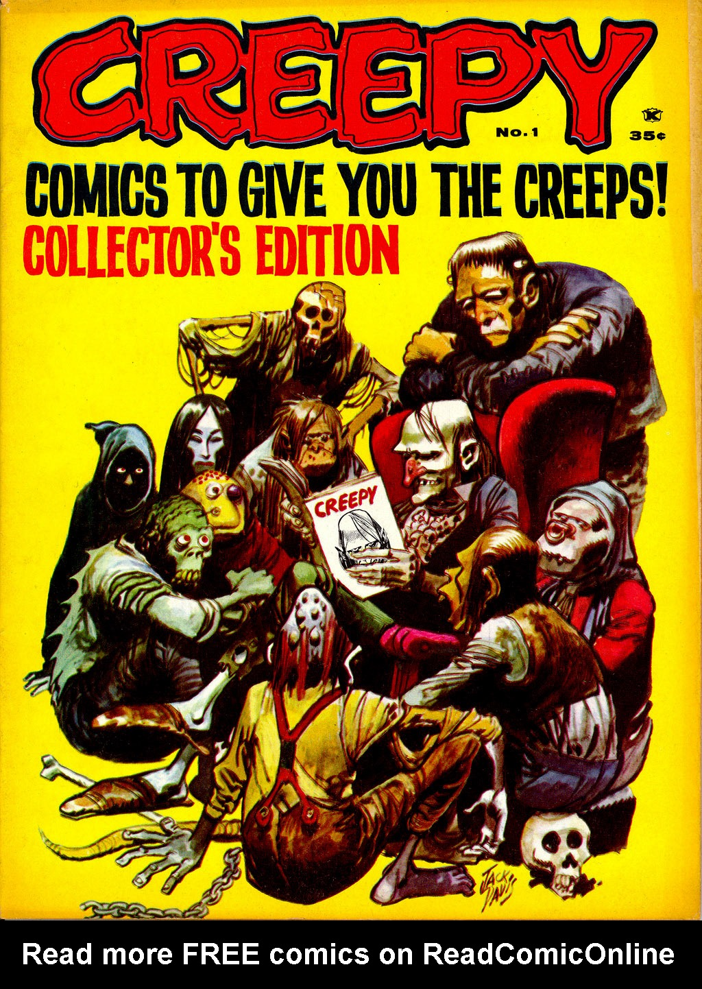 Creepy (1964) Issue #1 #1 - English 1