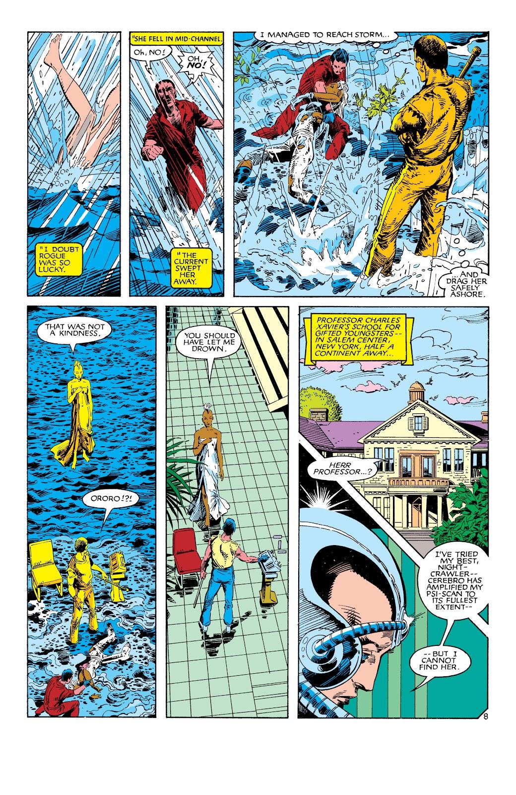 Uncanny X-Men (1963) issue 186 - Page 9