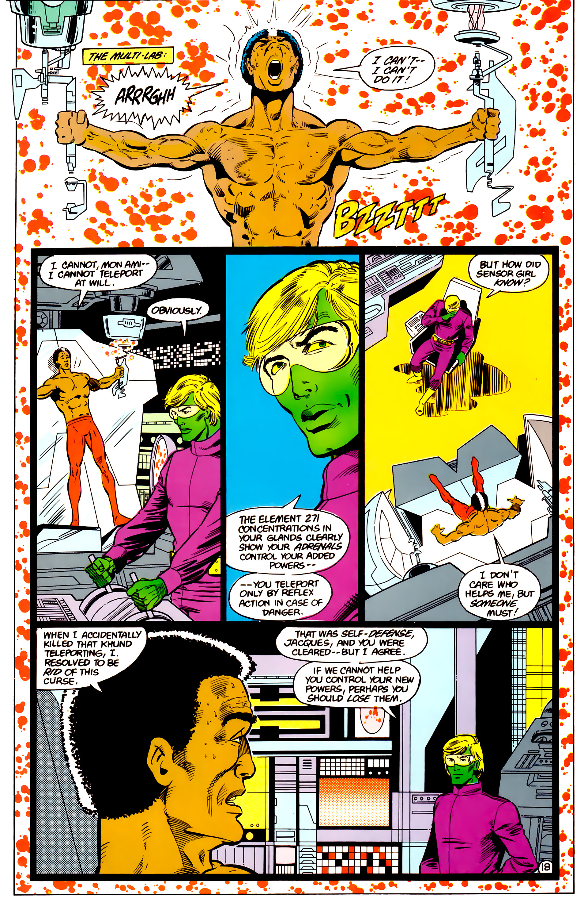 Legion of Super-Heroes (1984) 17 Page 19