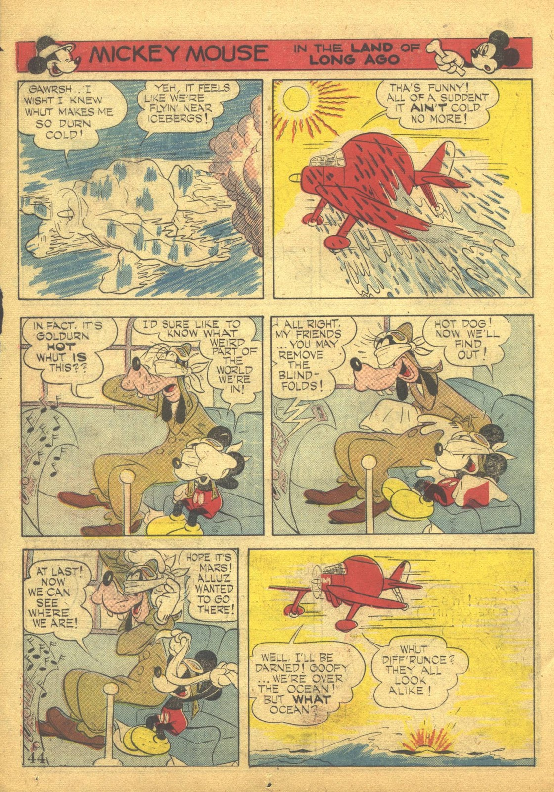 Walt Disney's Comics and Stories issue 41 - Page 46