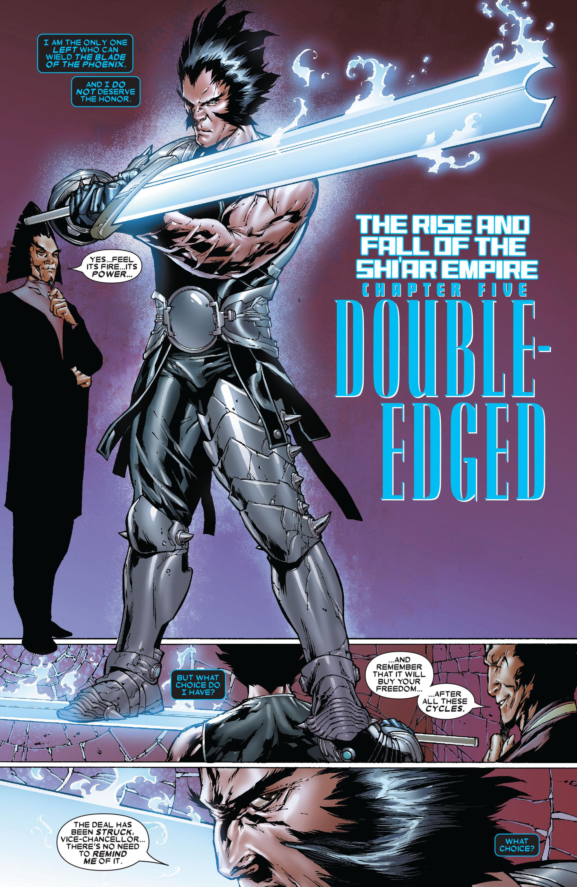 Read online Uncanny X-Men (1963) comic -  Issue #479 - 4