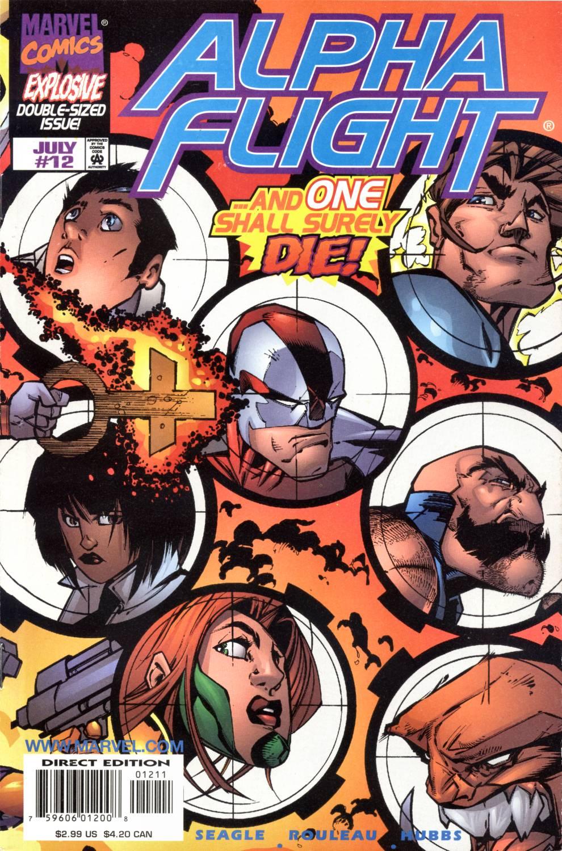 Read online Alpha Flight (1997) comic -  Issue #12 - 42
