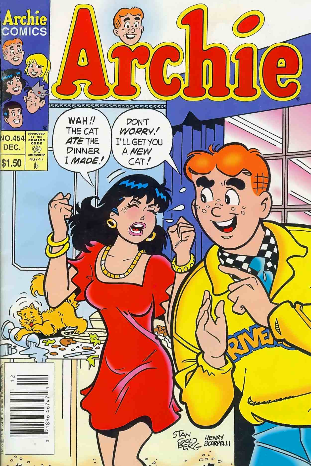 Read online Archie (1960) comic -  Issue #454 - 1