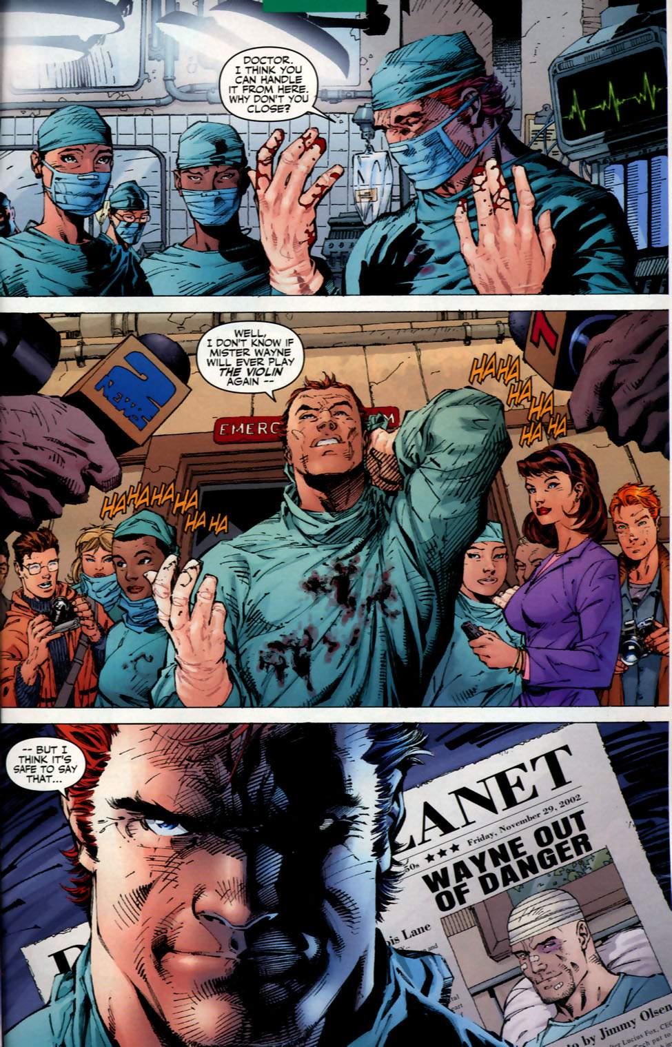 Read online Batman: Hush comic -  Issue #2 - 20