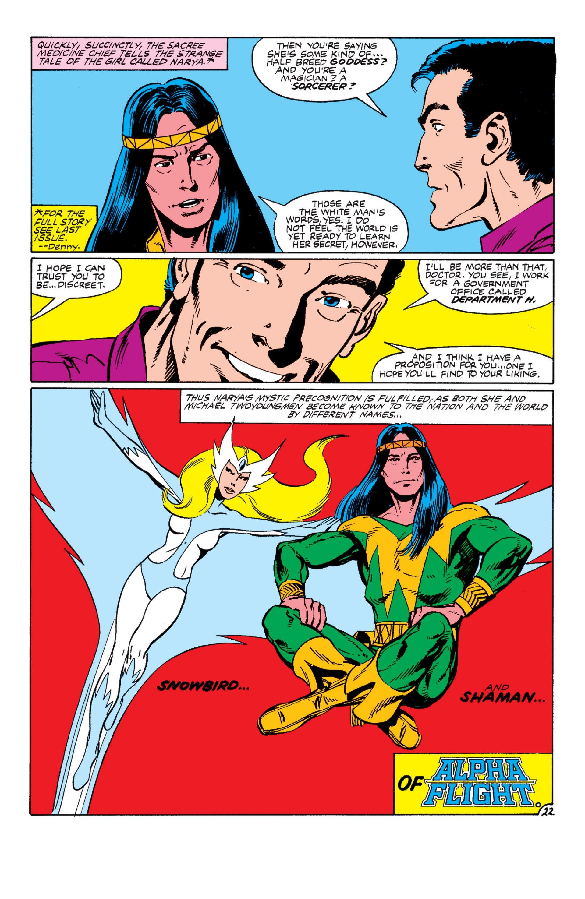Read online Alpha Flight (1983) comic -  Issue #8 - 23