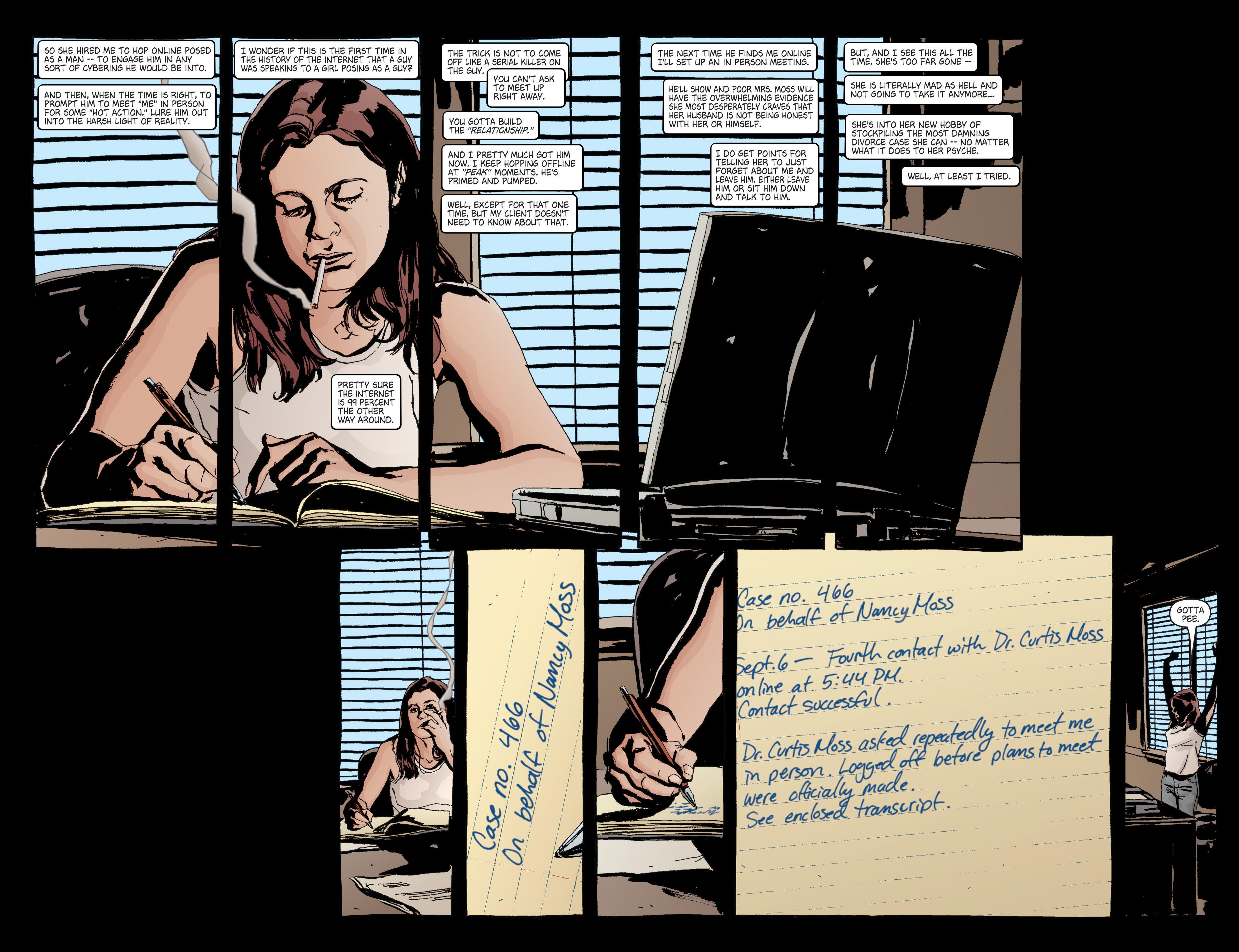 Read online Alias comic -  Issue #6 - 15