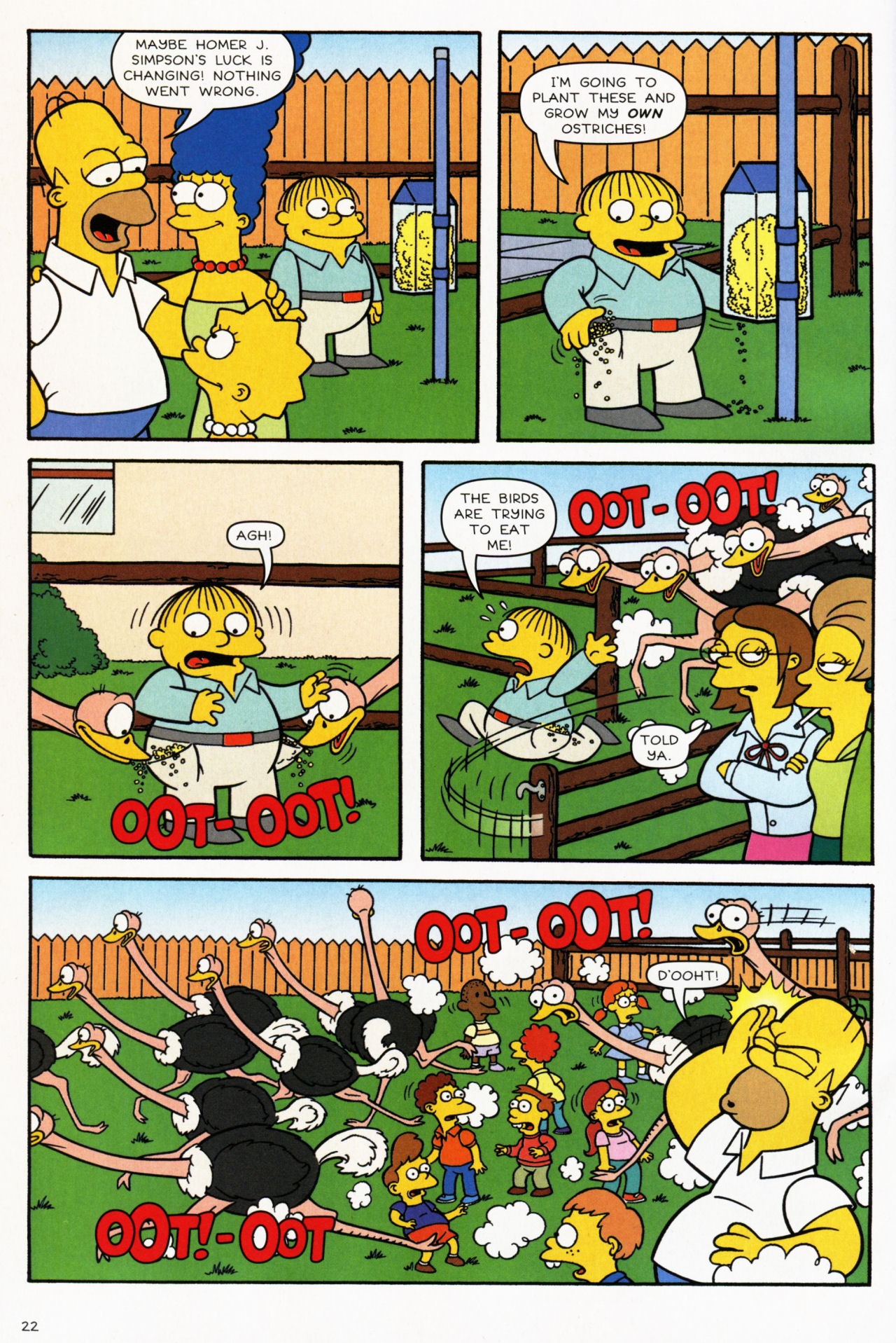 Read online Simpsons Comics comic -  Issue #139 - 20