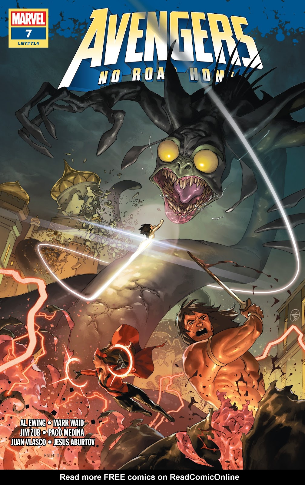 Read online Avengers No Road Home comic -  Issue #7 - 1