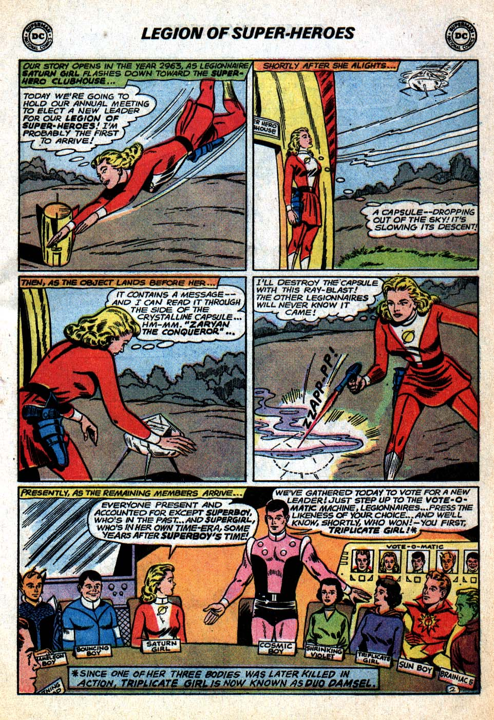 Read online Adventure Comics (1938) comic -  Issue #403 - 5