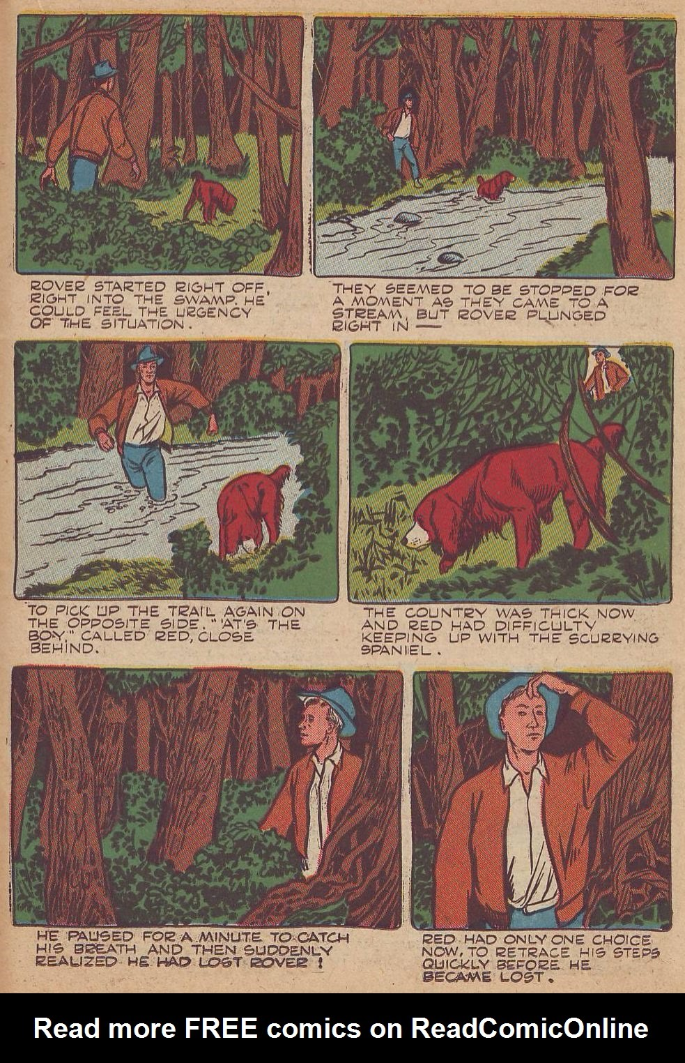 Read online Animal Comics comic -  Issue #23 - 33