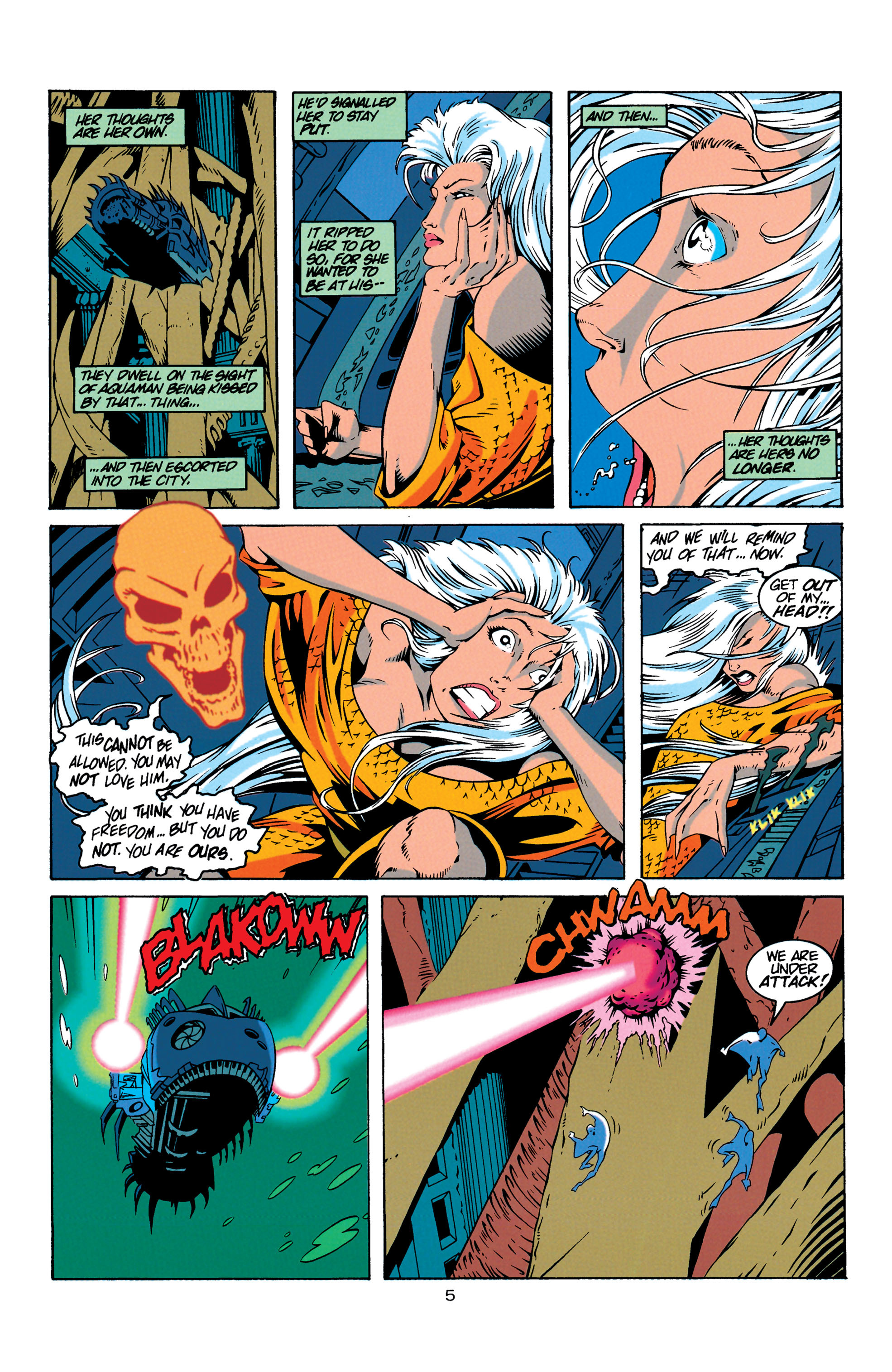 Read online Aquaman (1994) comic -  Issue #18 - 5