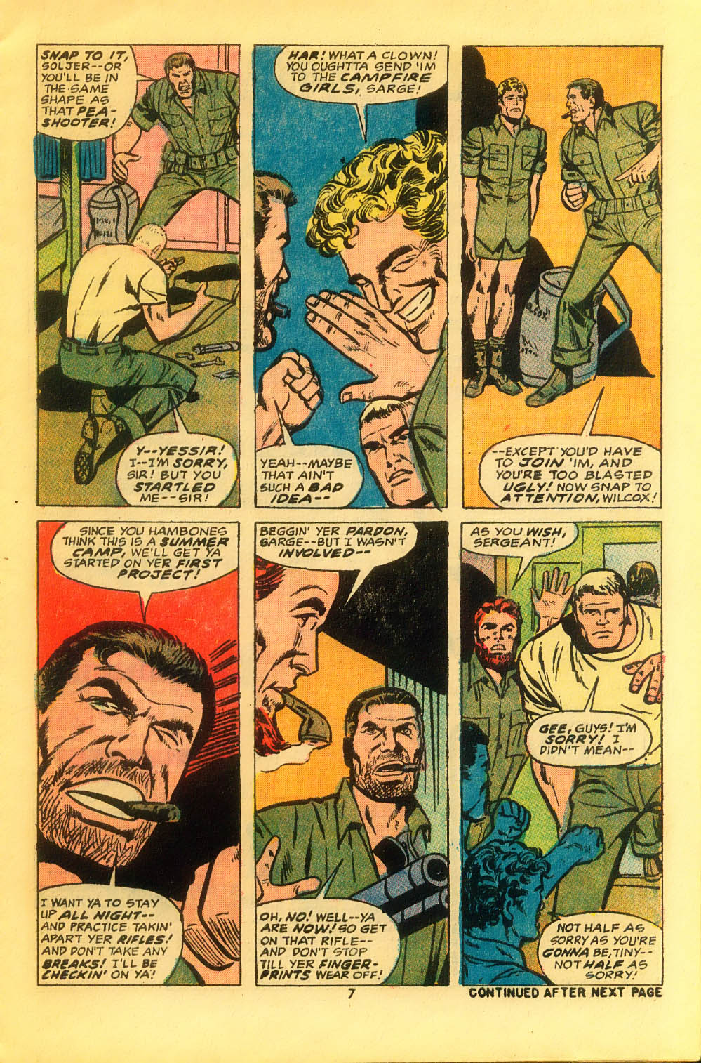 Read online Sgt. Fury comic -  Issue #116 - 9