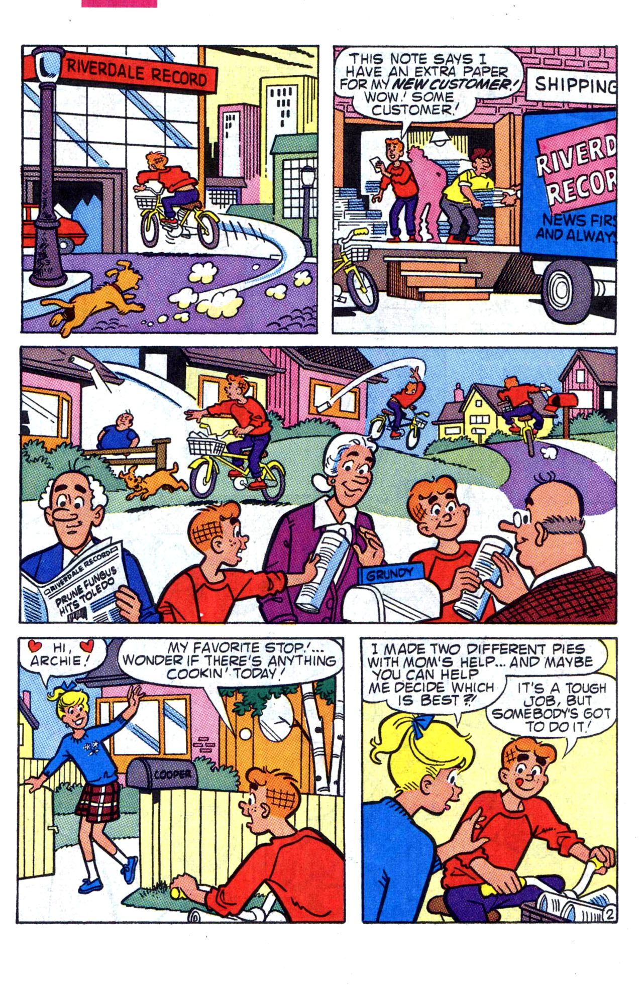 Read online Archie (1960) comic -  Issue #400 - 14