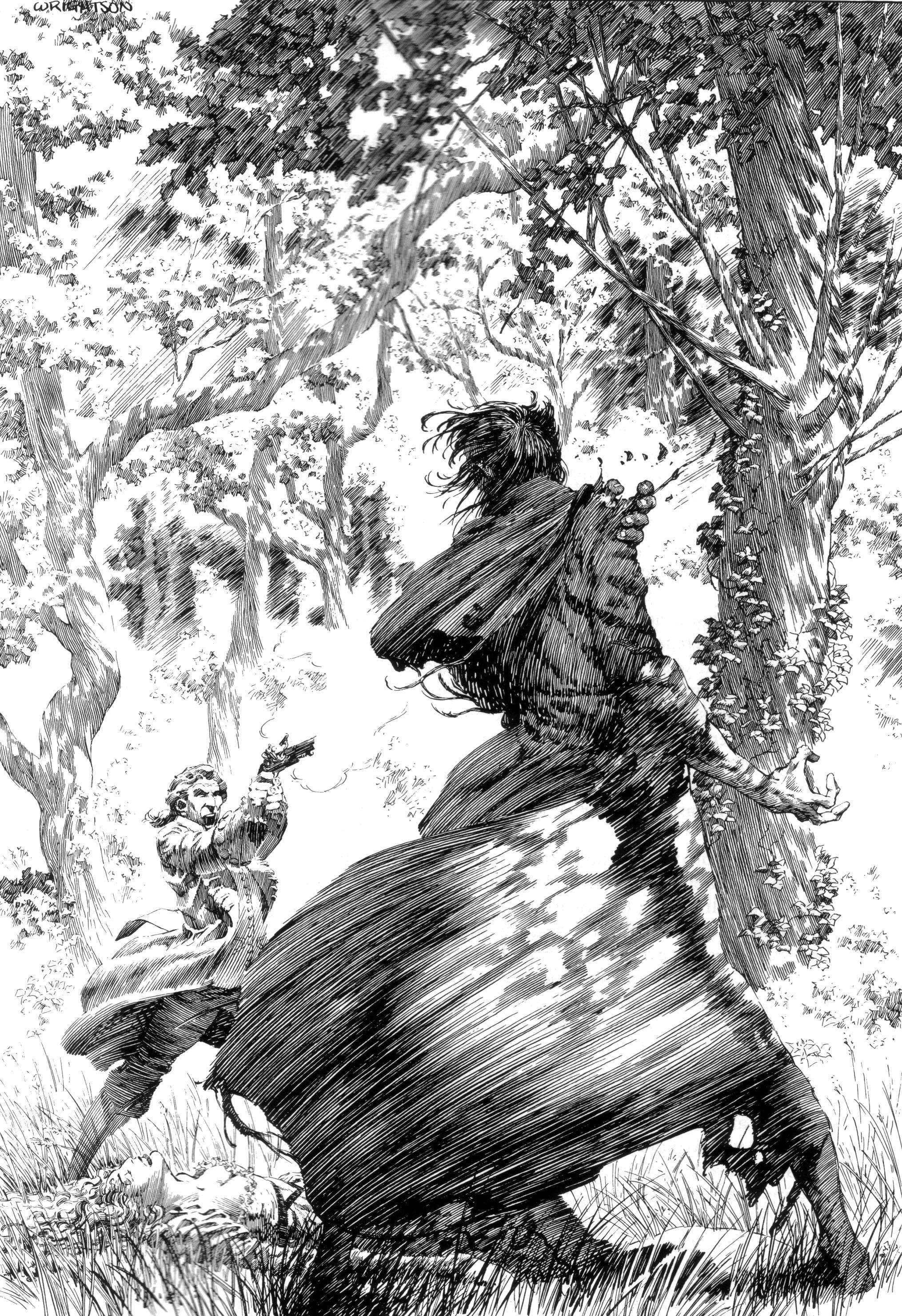 Read online Bernie Wrightson's Frankenstein comic -  Issue # Full - 30